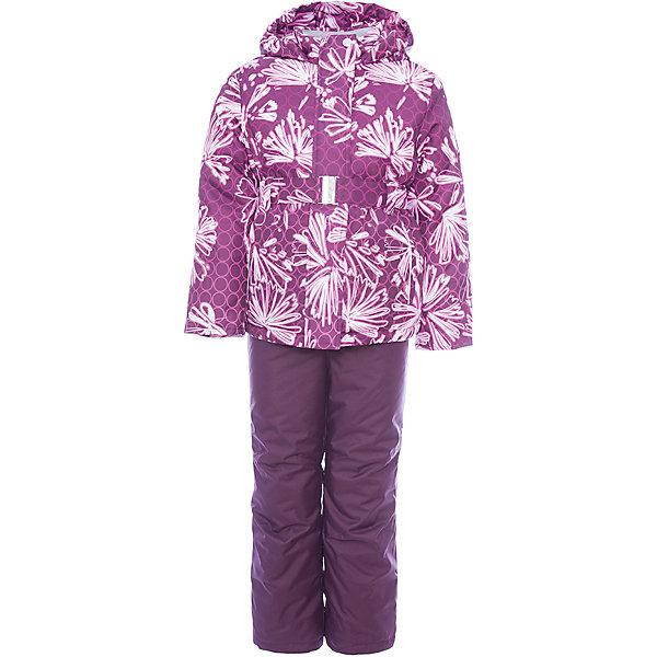 Комплект: куртка и полукомбинезон Альфа JICCO BY OLDOS для девочкиВерхняя одежда<br>Характеристики товара:<br><br>• цвет: синий<br>• комплектация: куртка и полукомбинезон<br>• состав ткани: полиэстер<br>• подкладка: флис<br>• утеплитель: Hollofan <br>• сезон: зима<br>• температурный режим: от -30 до 0<br>• плотность утеплителя: куртка - 300 г/м2, полукомбинезон - 150 г/м2<br>• застежка: молния<br>• капюшон: без меха, несъемный<br>• страна бренда: Россия<br>• страна изготовитель: Россия<br><br>Стильный зимний комплект от бренда Oldos разработан специально для детей. Внешняя ткань с водо-грязеотталкивающей пропиткой защитит от непогоды. Гипоаллергенный утеплитель нового поколения HOLLOFAN плотностью 300/150 г/м2 сохраняет тепло и быстро сохнет. Подкладка-флис, в рукавах и брючинах - гладкий полиэстер. <br><br>Капюшон слитный, карманы на молнии, пояс. Изделие прекрасно защитит от ветра и мороза, т.к. имеет ряд особенностей: воротник-стойка с флисовой вставкой, двойная ветрозащитная планка с защитой подбородка. Рукава с отворотом и внутренней трикотажной саморегулирующейся манжетой. Полукомбинезон с широкими эластичными регулируемыми по длине подтяжками, по талии вшита резинка для прилегания. <br><br><br>Комплект: куртка и полукомбинезон Альфа Oldos (Олдос) для девочки можно купить в нашем интернет-магазине.<br>Ширина мм: 356; Глубина мм: 10; Высота мм: 245; Вес г: 519; Цвет: лиловый; Возраст от месяцев: 18; Возраст до месяцев: 24; Пол: Женский; Возраст: Детский; Размер: 92,134,128,122,116,110,104,98; SKU: 7016349;