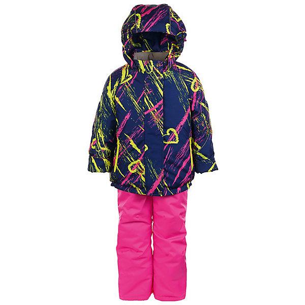 Комплект: куртка и полукомбинезон Галата JICCO BY OLDOS для девочкиВерхняя одежда<br>Характеристики товара:<br><br>• цвет: синий<br>• комплектация: куртка и полукомбинезон<br>• состав ткани: полиэстер<br>• подкладка: флис<br>• утеплитель: Hollofan <br>• сезон: зима<br>• температурный режим: от -30 до 0<br>• плотность утеплителя: куртка - 300 г/м2, полукомбинезон - 150 г/м2<br>• застежка: молния<br>• капюшон: без меха, несъемный<br>• страна бренда: Россия<br>• страна изготовитель: Россия<br><br>Внешняя ткань с водо-грязеотталкивающей пропиткой защитит от непогоды. Гипоаллергенный утеплитель нового поколения HOLLOFAN плотностью 300/150 г/м2 сохраняет тепло и быстро сохнет. Подкладка-флис, в рукавах и брючинах - гладкий полиэстер. Капюшон слитный, карманы на молнии. <br><br>Изделие прекрасно защитит от ветра и мороза, т.к. имеет ряд особенностей: воротник-стойка с флисовой вставкой, двойная ветрозащитная планка с защитой подбородка. Рукава с отворотом и внутренней трикотажной саморегулирующейся манжетой. Полукомбинезон с широкими эластичными регулируемыми по длине подтяжками, по талии вшита резинка для прилегания. Изделие имеет светоотражающие элементы. <br><br>Комплект: куртка и полукомбинезон Галата Oldos (Олдос) для девочки можно купить в нашем интернет-магазине.<br>Ширина мм: 356; Глубина мм: 10; Высота мм: 245; Вес г: 519; Цвет: розовый; Возраст от месяцев: 18; Возраст до месяцев: 24; Пол: Женский; Возраст: Детский; Размер: 92,140,134,128,122,116,110,104,98; SKU: 7016364;