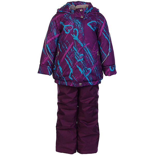 Комплект: куртка и полукомбинезон Галата JICCO BY OLDOS для девочкиВерхняя одежда<br>Характеристики товара:<br><br>• цвет: фиолетовый<br>• комплектация: куртка и полукомбинезон<br>• состав ткани: полиэстер<br>• подкладка: флис<br>• утеплитель: Hollofan <br>• сезон: зима<br>• температурный режим: от -30 до 0<br>• плотность утеплителя: куртка - 300 г/м2, полукомбинезон - 150 г/м2<br>• застежка: молния<br>• капюшон: без меха, несъемный<br>• страна бренда: Россия<br>• страна изготовитель: Россия<br><br>Внешняя ткань с водо-грязеотталкивающей пропиткой защитит от непогоды. Гипоаллергенный утеплитель нового поколения HOLLOFAN плотностью 300/150 г/м2 сохраняет тепло и быстро сохнет. Подкладка-флис, в рукавах и брючинах - гладкий полиэстер. Капюшон слитный, карманы на молнии. <br><br>Изделие прекрасно защитит от ветра и мороза, т.к. имеет ряд особенностей: воротник-стойка с флисовой вставкой, двойная ветрозащитная планка с защитой подбородка. Рукава с отворотом и внутренней трикотажной саморегулирующейся манжетой. Полукомбинезон с широкими эластичными регулируемыми по длине подтяжками, по талии вшита резинка для прилегания. Изделие имеет светоотражающие элементы. <br><br>Комплект: куртка и полукомбинезон Галата Oldos (Олдос) для девочки можно купить в нашем интернет-магазине.<br><br>Ширина мм: 356<br>Глубина мм: 10<br>Высота мм: 245<br>Вес г: 519<br>Цвет: лиловый<br>Возраст от месяцев: 84<br>Возраст до месяцев: 96<br>Пол: Женский<br>Возраст: Детский<br>Размер: 128,122,116,110,104,98,92,140,134<br>SKU: 7016370