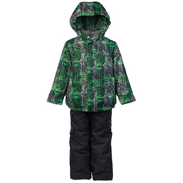 Комплект: куртка и полукомбинезон Джед OLDOS для мальчикаВерхняя одежда<br>Характеристики товара:<br><br>• цвет: серый<br>• комплектация: куртка и полукомбинезон<br>• состав ткани: полиэстер<br>• подкладка: флис<br>• утеплитель: Hollofan <br>• сезон: зима<br>• температурный режим: от -30 до 0<br>• плотность утеплителя: куртка - 300 г/м2, полукомбинезон - 150 г/м2<br>• застежка: молния<br>• капюшон: без меха, несъемный<br>• страна бренда: Россия<br>• страна изготовитель: Россия<br><br>Внешняя ткань с водо-грязеотталкивающей пропиткой защитит от непогоды. Гипоаллергенный утеплитель нового поколения HOLLOFAN плотностью 300/150 г/м2 сохраняет тепло и быстро сохнет. Подкладка-флис, в рукавах и брючинах - гладкий полиэстер. <br><br>Капюшон слитный, карманы на молнии. Изделие прекрасно защитит от ветра и мороза, т.к. имеет ряд особенностей: воротник-стойка с флисовой вставкой, двойная ветрозащитная планка с защитой подбородка. Рукава с отворотом и внутренней трикотажной саморегулирующейся манжетой. Полукомбинезон с широкими эластичными регулируемыми по длине подтяжками, по талии вставлена резинка для прилегания. Изделие имеет светоотражающие элементы. <br><br>Комплект: куртка и полукомбинезон Джед Oldos (Олдос) для мальчика можно купить в нашем интернет-магазине.<br><br>Ширина мм: 356<br>Глубина мм: 10<br>Высота мм: 245<br>Вес г: 519<br>Цвет: зеленый<br>Возраст от месяцев: 96<br>Возраст до месяцев: 108<br>Пол: Мужской<br>Возраст: Детский<br>Размер: 134,92,98,104,110,116,122,128<br>SKU: 7016416