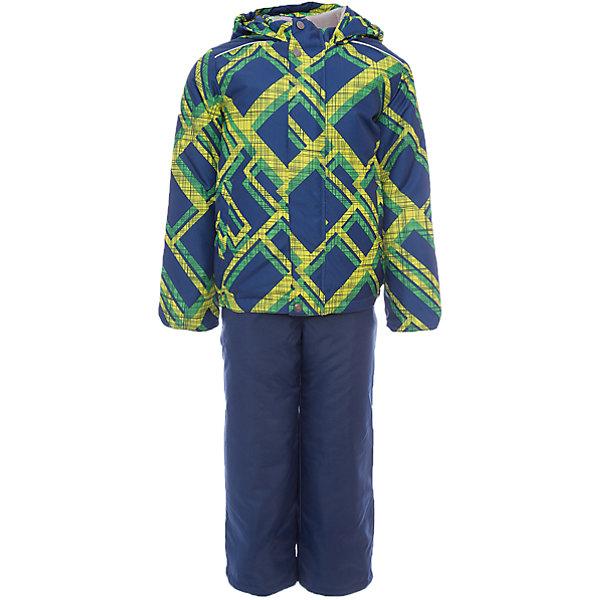 Комплект: куртка и полукомбинезон Гор JICCO BY OLDOS для мальчикаВерхняя одежда<br>Характеристики товара:<br><br>• цвет: синий<br>• комплектация: куртка и полукомбинезон<br>• состав ткани: полиэстер<br>• подкладка: флис<br>• утеплитель: Hollofan <br>• сезон: зима<br>• температурный режим: от -30 до 0<br>• плотность утеплителя: куртка - 300 г/м2, полукомбинезон - 150 г/м2<br>• застежка: молния<br>• капюшон: без меха, несъемный<br>• страна бренда: Россия<br>• страна изготовитель: Россия<br><br>Внешняя ткань с водо-грязеотталкивающей пропиткой защитит от непогоды. Гипоаллергенный утеплитель нового поколения HOLLOFAN плотностью 300/150 г/м2 сохраняет тепло и быстро сохнет. Подкладка-флис, в рукавах и брючинах - гладкий полиэстер. <br><br>Капюшон слитный, карманы на молнии. Изделие прекрасно защитит от ветра и мороза, т.к. имеет ряд особенностей: воротник-стойка с флисовой вставкой, двойная ветрозащитная планка с защитой подбородка. Рукава с отворотом и внутренней трикотажной саморегулирующейся манжетой. <br><br>Полукомбинезон с широкими эластичными регулируемыми по длине подтяжками, по талии вставлена резинка для прилегания. Изделие имеет светоотражающие элементы. <br><br>Комплект: куртка и полукомбинезон Гор Oldos (Олдос) для мальчика можно купить в нашем интернет-магазине.<br><br>Ширина мм: 356<br>Глубина мм: 10<br>Высота мм: 245<br>Вес г: 519<br>Цвет: синий<br>Возраст от месяцев: 60<br>Возраст до месяцев: 72<br>Пол: Мужской<br>Возраст: Детский<br>Размер: 116,140,134,128,122,110,104,98,92<br>SKU: 7016492