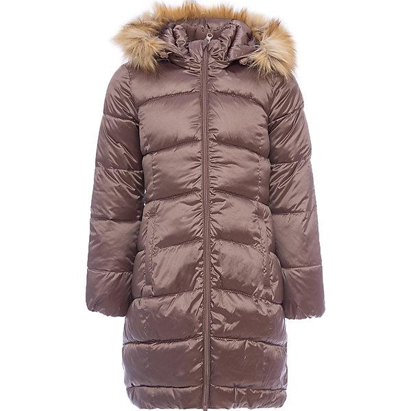 Пальто Лиза OLDOS для девочкиВерхняя одежда<br>Характеристики товара:<br><br>• цвет: коричневый<br>• состав ткани: 42% нейлон, 58% полиэстер, пропитка PU, Teflon<br>• подкладка: флис, полиэстер<br>• утеплитель: искусственный лебяжий пух<br>• сезон: зима<br>• температурный режим: от -35 до 0<br>• застежка: молния<br>• капюшон: с мехом, съемный<br>• страна бренда: Россия<br>• страна изготовитель: Россия<br><br>Пальто для девочки сделано из легких и качественных материалов. В составе ткани верха нейлон, что делает изделие износостойким: не линяет, не протирается при интенсивной эксплуатации и сохраняет презентабельный вид при многократных стирках. Покрытие TEFLON - защита от воды и грязи, за изделием легко ухаживать. Современный утеплитель - лебяжий пух искусственный: легкий, как натуральный, отлично сохраняет тепло, не впитывает влагу, держит и быстро восстанавливает объем, гипоаллергенен. Подкладка – флис, в рукавах - гладкий полиэстер. <br><br>Пальто выполнено в классическом стиле, имеет отстегивающуюся опушку из искусственного меха, карманы, нашивку-потеряшку на подкладке и светоотражающие элементы. Пальто хорошо защищает от ветра и мороза благодаря съемному капюшону с регулировкой объема, воротнику-стойке, ветрозащитной планке с защитой подбородка, внутренним саморегулирующимся трикотажным манжетам в рукавах.<br><br>Пальто Лиза Oldos (Олдос) для девочки можно купить в нашем интернет-магазине.<br><br>Ширина мм: 356<br>Глубина мм: 10<br>Высота мм: 245<br>Вес г: 519<br>Цвет: коричневый<br>Возраст от месяцев: 84<br>Возраст до месяцев: 96<br>Пол: Женский<br>Возраст: Детский<br>Размер: 128,158,152,146,140,134<br>SKU: 7016558