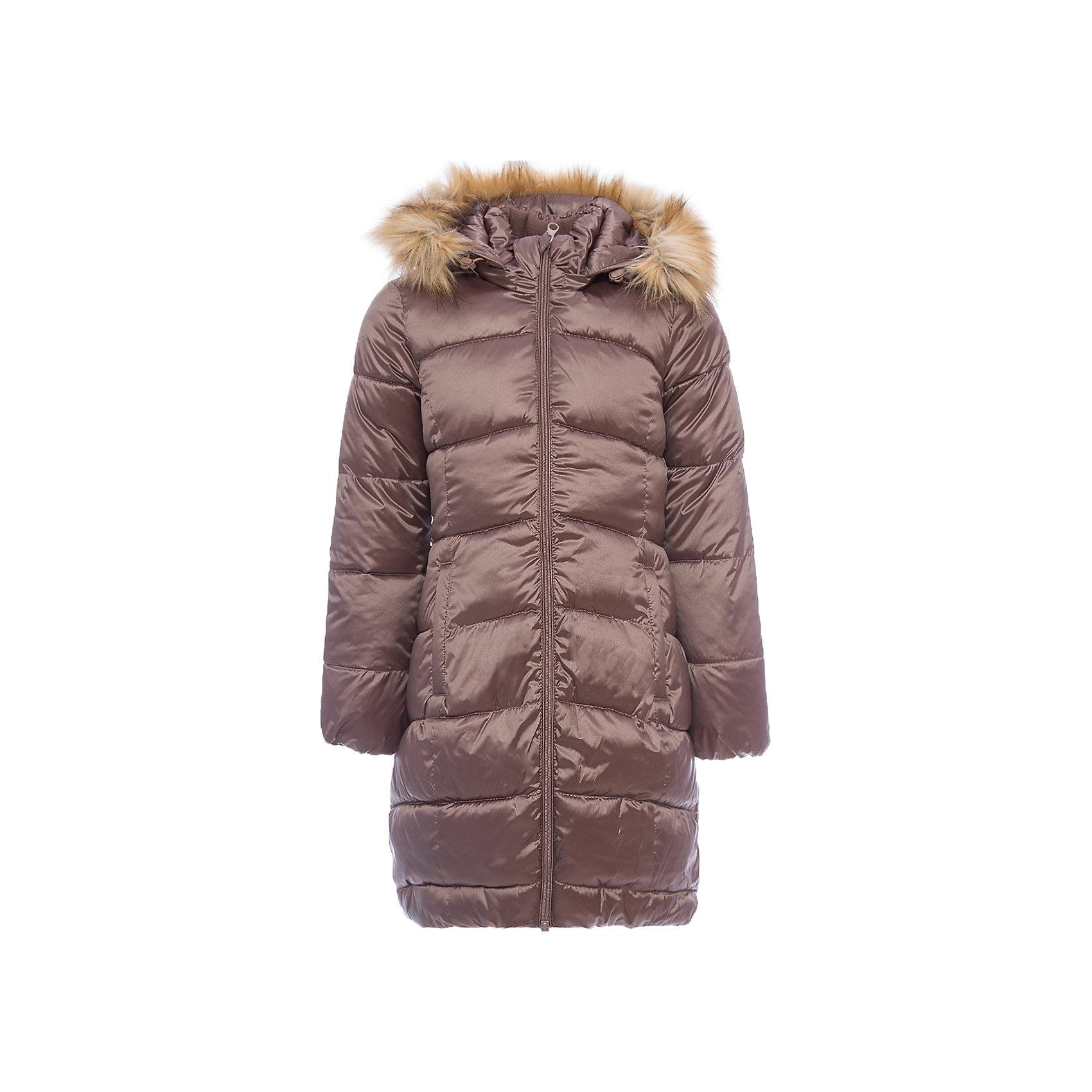Пальто Лиза OLDOS для девочкиВерхняя одежда<br>Характеристики товара:<br><br>• цвет: коричневый<br>• состав ткани: 42% нейлон, 58% полиэстер, пропитка PU, Teflon<br>• подкладка: флис, полиэстер<br>• утеплитель: искусственный лебяжий пух<br>• сезон: зима<br>• температурный режим: от -35 до 0<br>• застежка: молния<br>• капюшон: с мехом, съемный<br>• страна бренда: Россия<br>• страна изготовитель: Россия<br><br>Пальто для девочки сделано из легких и качественных материалов. Пальто для ребенка имеет отстегивающуюся опушку, карманы, светоотражающие элементы. Детское пальто отлично греет благодаря съемному капюшону с регулировкой объема, воротнику-стойке, планке от ветра. Такое зимнее пальто для ребенка обеспечит тепло и комфорт в холода.<br><br>Пальто Лиза Oldos (Олдос) для девочки можно купить в нашем интернет-магазине.<br><br>Ширина мм: 356<br>Глубина мм: 10<br>Высота мм: 245<br>Вес г: 519<br>Цвет: коричневый<br>Возраст от месяцев: 120<br>Возраст до месяцев: 132<br>Пол: Женский<br>Возраст: Детский<br>Размер: 146,152,158,128,134,140<br>SKU: 7016558
