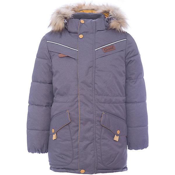 Куртка Жан OLDOS для мальчикаВерхняя одежда<br>Характеристики товара:<br><br>• цвет: черный<br>• состав ткани: 100% полиэстер, пропитка PU, Teflon<br>• подкладка: флис, полиэстер<br>• утеплитель: искусственный лебяжий пух<br>• сезон: зима<br>• температурный режим: от -35 до 0<br>• застежка: молния<br>• капюшон: с мехом, съемный<br>• страна бренда: Россия<br>• страна изготовитель: Россия<br><br>Зимняя куртка для ребенка обеспечит тепло и комфорт в холода благодаря качественному утеплителю и пропитке от воды и грязи. Эту детскую куртку легко чистить. Стильная куртка для ребенка дополнена функциональными элементами: отстегивающейся опушкой и капюшоном, карманами, воротником-стойкой, ветрозащитной планкой. <br><br>Внешнее покрытие TEFLON - защита от воды и грязи, за изделием легко ухаживать. Современный утеплитель - лебяжий пух искусственный: легкий, как натуральный, отлично сохраняет тепло, не впитывает влагу, сохраняет и быстро восстанавливает объем, гипоаллергенен. Подкладка – флис, в рукавах - гладкий полиэстер. <br><br>Капюшон съемный, с регулировкой объема, опушка отстегивается. Воротник-стойка, двойная ветрозащитная планка с защитой подбородка, внутренние саморегулирующиеся трикотажные манжеты надежно защитят от непогоды. Есть регулируемая утяжка по талии, нашивка-потеряшка на подкладке, светоотражающие элементы.<br><br>Куртку Жан Oldos (Олдос) для мальчика можно купить в нашем интернет-магазине.<br><br>Ширина мм: 356<br>Глубина мм: 10<br>Высота мм: 245<br>Вес г: 519<br>Цвет: черный<br>Возраст от месяцев: 144<br>Возраст до месяцев: 156<br>Пол: Мужской<br>Возраст: Детский<br>Размер: 158,152,122,128,134,140,146<br>SKU: 7016586