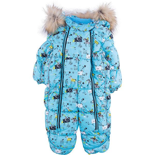 Комбинезон-трансформер Морис OLDOS для мальчикаКомбинезоны<br>Характеристики товара:<br><br>• цвет: голубой<br>• состав ткани: 100% полиэстер, пропитка PU, Teflon<br>• подкладка: хлопок<br>• утеплитель: искусственный лебяжий пух<br>• сезон: зима<br>• температурный режим: от -35 до 0<br>• застежка: молния<br>• капюшон: с мехом, несъемный<br>• пинетки, варежки, опушка отстегиваются<br>• трансформируется в конверт<br>• страна бренда: Россия<br>• страна изготовитель: Россия<br><br>Удобный комбинезон-трансформер для мальчика дополнен съемными пинетками и варежками. Комбинезон-трансформер позволяет создать комфортный микроклимат даже в сильные морозы. Верх детского комбинезона со специальной пропиткой. Мягкая подкладка детского комбинезона-трансформера для зимы приятна на ощупь.<br><br>Внешнее покрытие TEFLON - защита от воды и грязи, износостойкость, за изделием легко ухаживать. Современный утеплитель - лебяжий пух искусственный: легкий, как натуральный, сохраняет тепло, не впитывает влагу, держит и быстро восстанавливает объем, гипоаллергенен. Подкладка - натуральный хлопок. <br><br>Капюшон слитный, объем регулируется, опушка отстегивается. Есть светоотражающие элементы, съемные эластичные штрипки, внутренние трикотажные манжеты в рукавах. Пинетки и варежки в комплекте, крепятся к комбинезону кнопками. Пока ребенок маленький - удобно использовать в виде конверта, а когда подрастет - носить полноценный комбинезон.<br><br>Комбинезон-трансформер Морис Oldos (Олдос) для мальчика можно купить в нашем интернет-магазине.<br><br>Ширина мм: 356<br>Глубина мм: 10<br>Высота мм: 245<br>Вес г: 519<br>Цвет: голубой<br>Возраст от месяцев: 12<br>Возраст до месяцев: 18<br>Пол: Мужской<br>Возраст: Детский<br>Размер: 86,74,80<br>SKU: 7016604