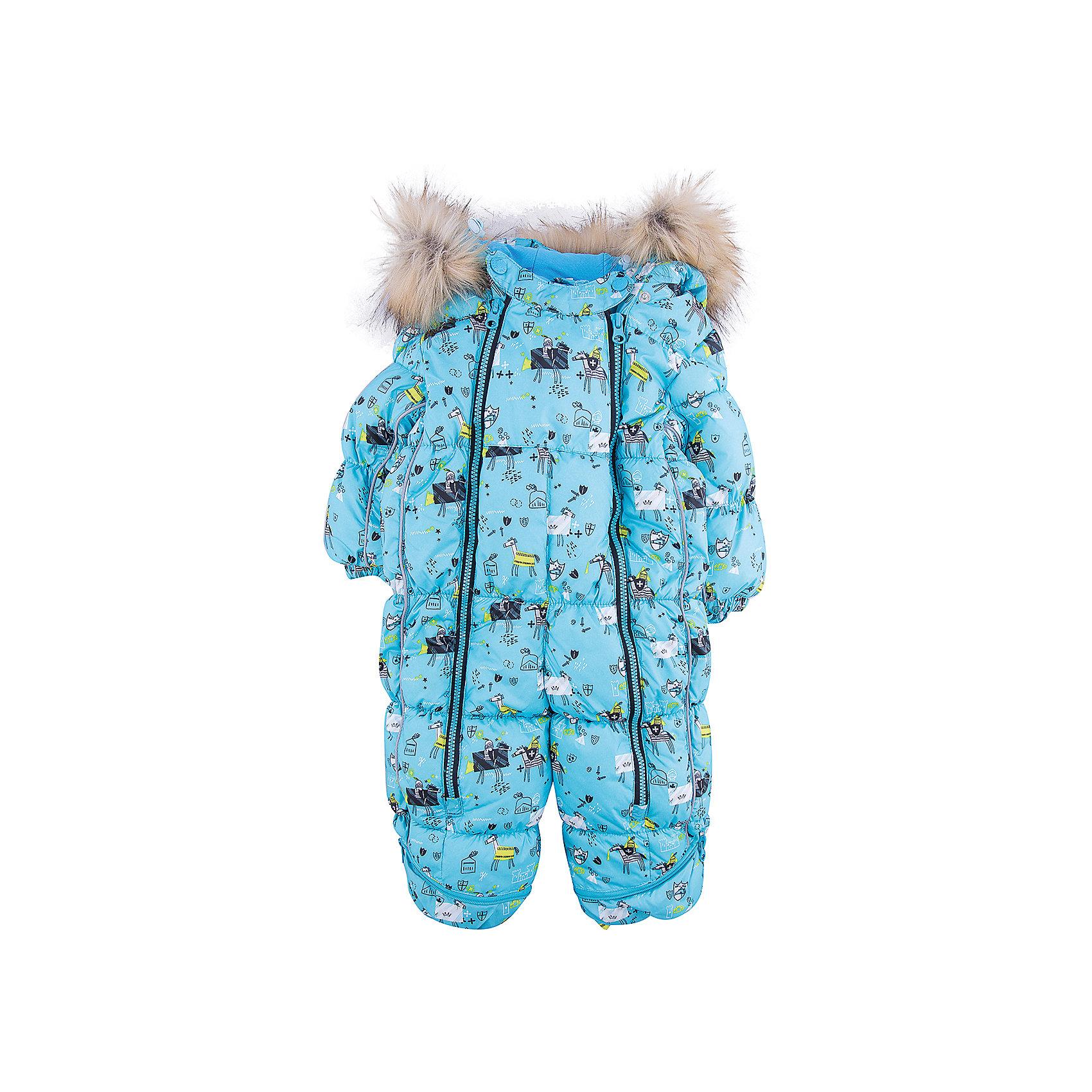 Комбинезон-трансформер Морис OLDOS для мальчикаВерхняя одежда<br>Характеристики товара:<br><br>• цвет: голубой<br>• состав ткани: 100% полиэстер, пропитка PU, Teflon<br>• подкладка: хлопок<br>• утеплитель: искусственный лебяжий пух<br>• сезон: зима<br>• температурный режим: от -35 до 0<br>• застежка: молния<br>• капюшон: с мехом, несъемный<br>• пинетки, варежки, опушка отстегиваются<br>• трансформируется в конверт<br>• страна бренда: Россия<br>• страна изготовитель: Россия<br><br>Удобный комбинезон-трансформер для мальчика дополнен съемными пинетками и варежками. Комбинезон-трансформер позволяет создать комфортный микроклимат даже в сильные морозы. Верх детского комбинезона со специальной пропиткой. Мягкая подкладка детского комбинезона-трансформера для зимы приятна на ощупь.<br><br>Комбинезон-трансформер Морис Oldos (Олдос) для мальчика можно купить в нашем интернет-магазине.<br><br>Ширина мм: 356<br>Глубина мм: 10<br>Высота мм: 245<br>Вес г: 519<br>Цвет: голубой<br>Возраст от месяцев: 12<br>Возраст до месяцев: 18<br>Пол: Мужской<br>Возраст: Детский<br>Размер: 86,74,80<br>SKU: 7016604