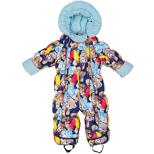 Комбинезон-трансформер Джереми OLDOS для девочкиВерхняя одежда<br>Характеристики товара:<br><br>• цвет: синий<br>• состав ткани: 100% полиэстер, пропитка PU, Teflon<br>• подкладка: хлопок<br>• утеплитель: искусственный лебяжий пух<br>• сезон: зима<br>• температурный режим: от -35 до 0<br>• застежка: молния<br>• капюшон: без меха, несъемный<br>• пинетки отстегиваются<br>• трансформируется в конверт<br>• страна бренда: Россия<br>• страна изготовитель: Россия<br><br>Хлопковая подкладка детского комбинезона-трансформера для зимы приятна на ощупь. Удобный комбинезон-трансформер для мальчика дополнен съемными пинетками. Комбинезон-трансформер позволяет создать комфортный микроклимат даже в сильные морозы. Верх этого детского комбинезона - с пропиткой от грязи и влаги. <br><br>Внешнее покрытие Teflon - защита от воды и грязи, износостойкость, за изделием легко ухаживать. Современный утеплитель - лебяжий пух искусственный: легкий, как натуральный, сохраняет тепло, не впитывает влагу, держит и быстро восстанавливает объем, гипоаллергенен. Подкладка - натуральный хлопок.<br><br>Капюшон слитный, хорошо прилегает благодаря резинке. В области подбородка есть мягкий отворот для защиты от натирания и дополнительного комфорта. Есть светоотражающие элементы, съемные эластичные штрипки, внутренние трикотажные манжеты в рукавах. На рукавах есть отвороты-царапки, позволяющие закрыть руки и ноги.Пока ребенок маленький - удобно использовать в виде конверта, а когда подрастет -  носить полноценный комбинезон.<br><br>Комбинезон-трансформер Джереми Oldos (Олдос) можно купить в нашем интернет-магазине.<br>Ширина мм: 356; Глубина мм: 10; Высота мм: 245; Вес г: 519; Цвет: синий; Возраст от месяцев: 3; Возраст до месяцев: 6; Пол: Женский; Возраст: Детский; Размер: 68,80,74; SKU: 7016616;
