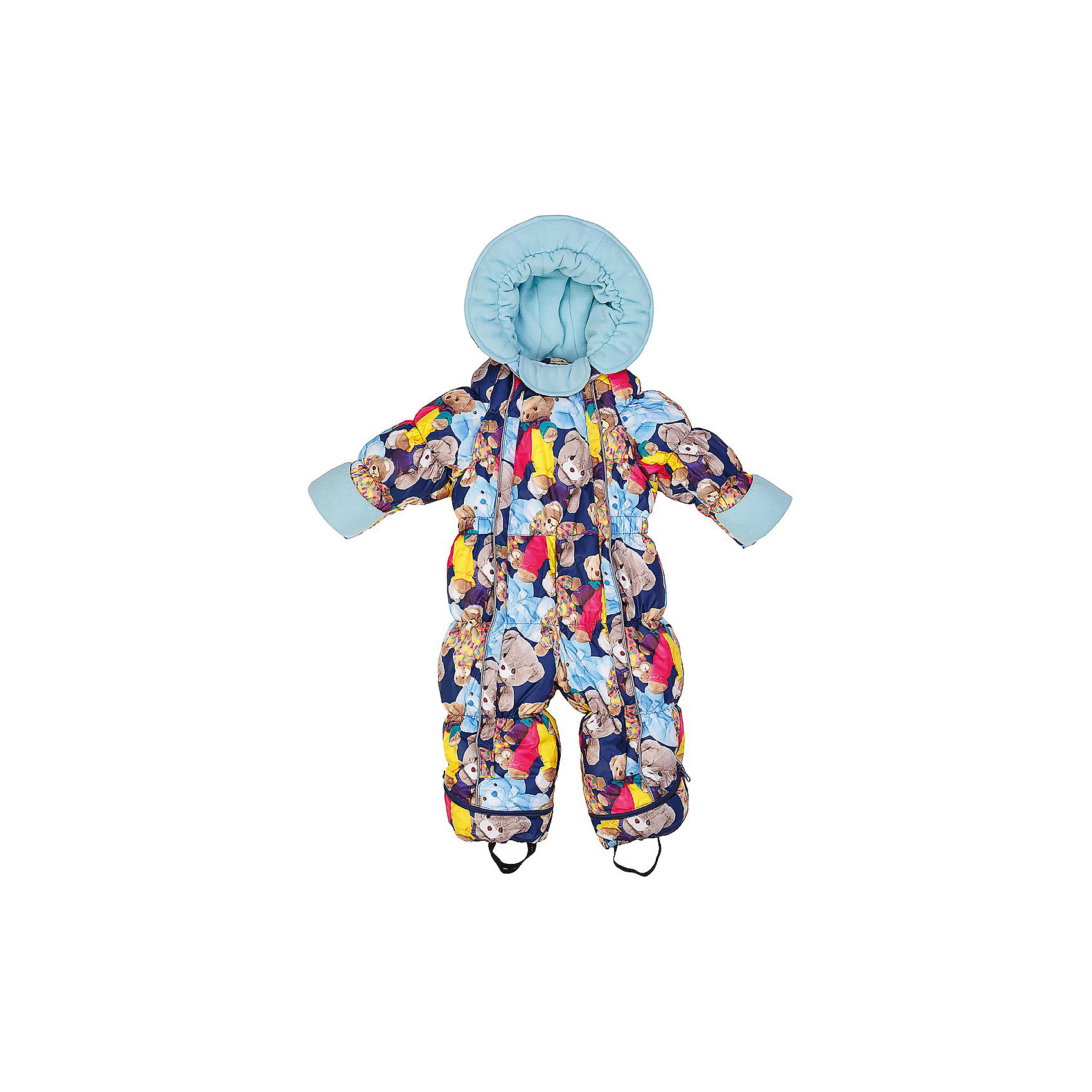 Комбинезон-трансформер Джереми OLDOSВерхняя одежда<br>Характеристики товара:<br><br>• цвет: синий<br>• состав ткани: 100% полиэстер, пропитка PU, Teflon<br>• подкладка: хлопок<br>• утеплитель: искусственный лебяжий пух<br>• сезон: зима<br>• температурный режим: от -35 до 0<br>• застежка: молния<br>• капюшон: без меха, несъемный<br>• пинетки отстегиваются<br>• трансформируется в конверт<br>• страна бренда: Россия<br>• страна изготовитель: Россия<br><br>Хлопковая подкладка детского комбинезона-трансформера для зимы приятна на ощупь. Удобный комбинезон-трансформер для мальчика дополнен съемными пинетками. Комбинезон-трансформер позволяет создать комфортный микроклимат даже в сильные морозы. Верх этого детского комбинезона - с пропиткой от грязи и влаги. <br><br>Комбинезон-трансформер Джереми Oldos (Олдос) можно купить в нашем интернет-магазине.<br><br>Ширина мм: 356<br>Глубина мм: 10<br>Высота мм: 245<br>Вес г: 519<br>Цвет: синий<br>Возраст от месяцев: 3<br>Возраст до месяцев: 6<br>Пол: Унисекс<br>Возраст: Детский<br>Размер: 68,80,74<br>SKU: 7016616