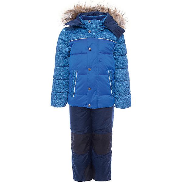 Комплект: куртка и полукомбинезон Савва OLDOS для мальчикаВерхняя одежда<br>Характеристики товара:<br><br>• цвет: синий<br>• комплектация: куртка и полукомбинезон<br>• состав ткани: 100% полиэстер, пропитка PU, Teflon<br>• подкладка: флис, полиэстер<br>• утеплитель: куртка - искусственный лебяжий пух, полукомбинезон - Hollofan 200 г/м2<br>• сезон: зима<br>• температурный режим: от -35 до 0<br>• застежка: молния<br>• капюшон: с мехом, съемный<br>• страна бренда: Россия<br>• страна изготовитель: Россия<br><br>Теплый комплект для мальчика отлично подходит для сильных морозов. Подкладка зимнего комплекта комбинированная: флис и гладкий полиэстер. Так комплект для ребенка легче надевать. Зимний костюм дополнен элементами, помогающими скорректировать размер точно под ребенка. <br><br>Комплект: куртка и полукомбинезон Савва Oldos (Олдос) для мальчика можно купить в нашем интернет-магазине.<br><br>Ширина мм: 356<br>Глубина мм: 10<br>Высота мм: 245<br>Вес г: 519<br>Цвет: синий<br>Возраст от месяцев: 12<br>Возраст до месяцев: 18<br>Пол: Мужской<br>Возраст: Детский<br>Размер: 86,140,134,128,122,116,110,104,98,92<br>SKU: 7016758
