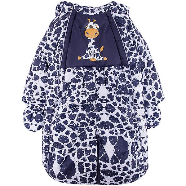 Комбинезон-трансформер Жирафик OLDOS для мальчикаВерхняя одежда<br>Характеристики товара:<br><br>• цвет: синий<br>• состав ткани: 100% полиэстер, Teflon <br>• подкладка: хлопок<br>• утеплитель: Hollofan 200 г/м2<br>• подстежка: 60% шерсть, 40% полиэстер<br>• сезон: зима<br>• температурный режим: от -35 до 0<br>• застежка: молния<br>• капюшон: без меха, несъемный<br>• пинетки, варежки отстегиваются<br>• трансформируется в конверт<br>• страна бренда: Россия<br>• страна изготовитель: Россия<br><br>Комбинезон-трансформер отличается оригинальным дизайном. Верх этого детского комбинезона - с пропиткой от грязи и влаги. Мягкая подкладка детского комбинезона-трансформера для зимы приятна на ощупь. Удобный комбинезон-трансформер для мальчика дополнен съемными пинетками и варежками.<br><br>Комбинезон-трансформер Жирафик Oldos (Олдос) можно купить в нашем интернет-магазине.<br><br>Ширина мм: 356<br>Глубина мм: 10<br>Высота мм: 245<br>Вес г: 519<br>Цвет: синий<br>Возраст от месяцев: 3<br>Возраст до месяцев: 6<br>Пол: Мужской<br>Возраст: Детский<br>Размер: 68,86,80,74<br>SKU: 7016813