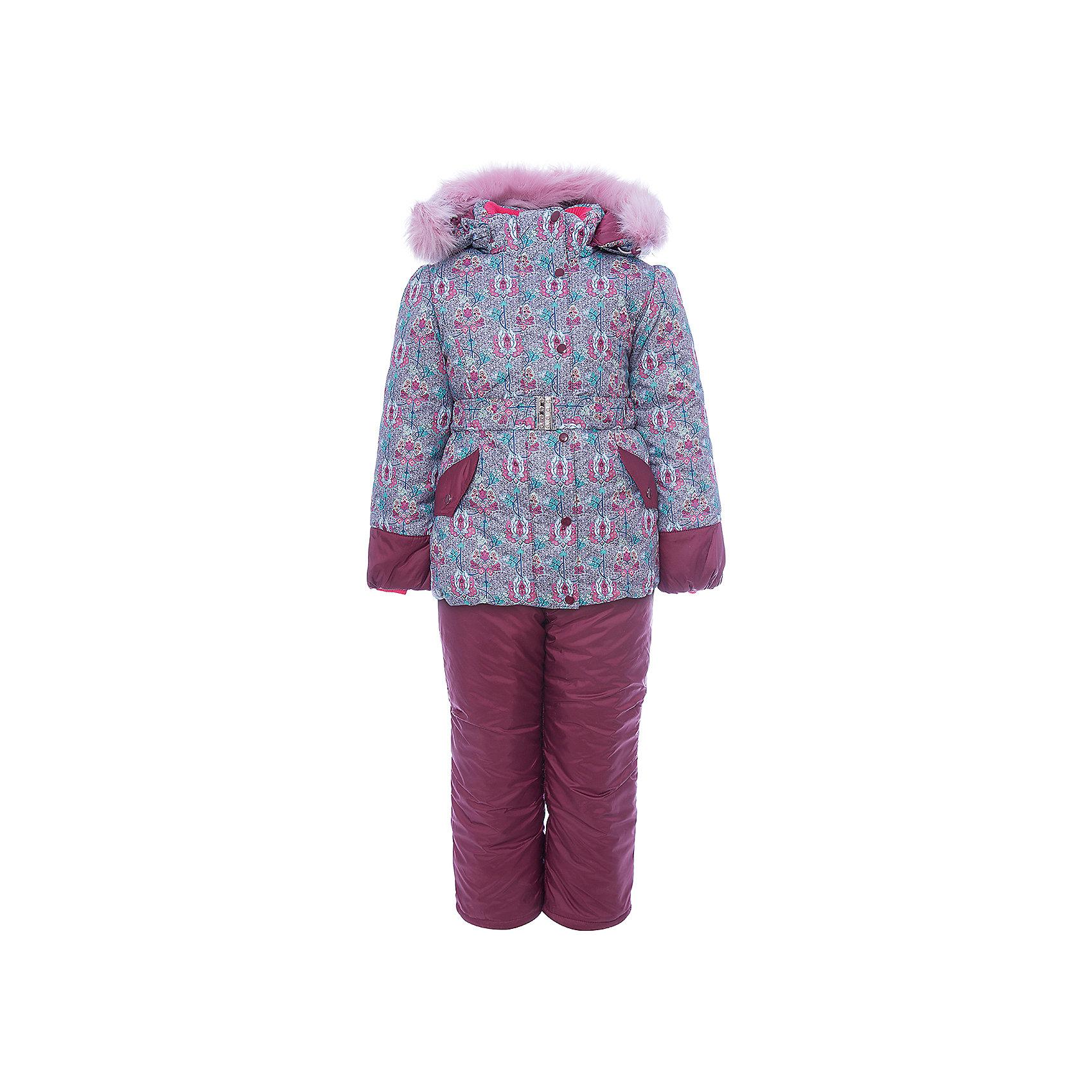 Комплект: куртка и полукомбинезон Адель OLDOS для девочкиВерхняя одежда<br>Характеристики товара:<br><br>• цвет: бордовый<br>• комплектация: куртка и полукомбинезон<br>• состав ткани: 100% полиэстер, пропитка Teflon<br>• подкладка: хлопок, полиэстер<br>• утеплитель: Hollofan 250/200 г/м2<br>• подстежка: 60% шерсть, 40% полиэстер<br>• сезон: зима<br>• температурный режим: от -35 до 0<br>• застежка: молния<br>• капюшон: с мехом, съемный<br>• подстежка в комплекте<br>• страна бренда: Россия<br>• страна изготовитель: Россия<br><br>Подкладка зимнего комплекта сделана из хлопка и полиэстера, приятных на ощупь. Зимний костюм для девочки дополнен элементами, помогающими скорректировать размер точно под ребенка. Теплый комплект для девочки отлично подходит для суровой русской зимы благодаря хорошему утеплителю и пропитке верха от влаги и грязи. <br><br>Комплект: куртка и полукомбинезон Адель Oldos (Олдос) для девочки можно купить в нашем интернет-магазине.<br><br>Ширина мм: 356<br>Глубина мм: 10<br>Высота мм: 245<br>Вес г: 519<br>Цвет: бордовый<br>Возраст от месяцев: 96<br>Возраст до месяцев: 108<br>Пол: Женский<br>Возраст: Детский<br>Размер: 134,104,110,116,122,128<br>SKU: 7016841