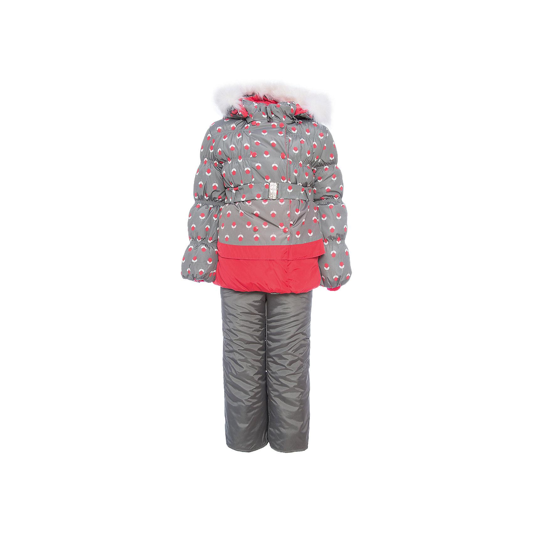 Комплект: куртка и полукомбинезон Вишня OLDOS для девочкиВерхняя одежда<br>Характеристики товара:<br><br>• цвет: коричневый<br>• комплектация: куртка и полукомбинезон<br>• состав ткани: 100% полиэстер, пропитка Teflon<br>• подкладка: хлопок, полиэстер<br>• утеплитель: Hollofan 250/200 г/м2<br>• подстежка: 60% шерсть, 40% полиэстер<br>• сезон: зима<br>• температурный режим: от -35 до 0<br>• застежка: молния<br>• капюшон: с мехом, съемный<br>• подстежка в комплекте<br>• страна бренда: Россия<br>• страна изготовитель: Россия<br><br>Теплый комплект для девочки симпатично смотрится и удобно сидит. Костюм отлично подходит для суровой русской зимы благодаря хорошему утеплителю и пропитке верха от влаги и грязи. Подкладка зимнего комплекта сделана из хлопка и полиэстера, приятных на ощупь. Зимний костюм для девочки дополнен элементами, помогающими скорректировать размер точно под ребенка. <br><br>Комплект: куртка и полукомбинезон Вишня Oldos (Олдос) для девочки можно купить в нашем интернет-магазине.<br><br>Ширина мм: 356<br>Глубина мм: 10<br>Высота мм: 245<br>Вес г: 519<br>Цвет: коралловый<br>Возраст от месяцев: 48<br>Возраст до месяцев: 60<br>Пол: Женский<br>Возраст: Детский<br>Размер: 110,116,86,92,98,104<br>SKU: 7016862