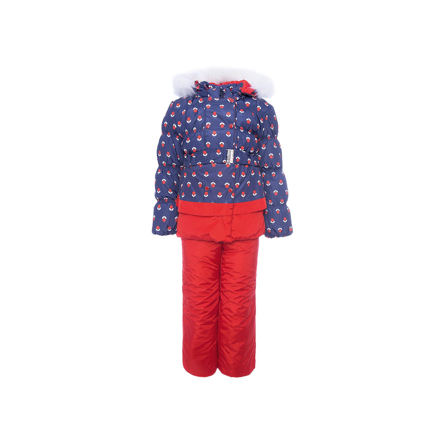 Комплект: куртка и полукомбинезон Вишня OLDOS для девочкиВерхняя одежда<br>Характеристики товара:<br><br>• цвет: красный<br>• комплектация: куртка и полукомбинезон<br>• состав ткани: 100% полиэстер, пропитка Teflon<br>• подкладка: хлопок, полиэстер<br>• утеплитель: Hollofan 250/200 г/м2<br>• подстежка: 60% шерсть, 40% полиэстер<br>• сезон: зима<br>• температурный режим: от -35 до 0<br>• застежка: молния<br>• капюшон: с мехом, съемный<br>• подстежка в комплекте<br>• страна бренда: Россия<br>• страна изготовитель: Россия<br><br>Этот детский комплект обеспечит тепло и комфорт даже в сильные холода. Зимний комплект сделан из качественных материалов. Такой костюм для девочки дополнен шерстяной подстежкой. Комплект для девочки дополнен удобными эластичными регулируемыми подтяжками, капюшоном, планкой и внутренней манжетой. <br><br>Комплект: куртка и полукомбинезон Вишня Oldos (Олдос) для девочки можно купить в нашем интернет-магазине.<br><br>Ширина мм: 356<br>Глубина мм: 10<br>Высота мм: 245<br>Вес г: 519<br>Цвет: красный<br>Возраст от месяцев: 60<br>Возраст до месяцев: 72<br>Пол: Женский<br>Возраст: Детский<br>Размер: 116,86,92,98,104,110<br>SKU: 7016869