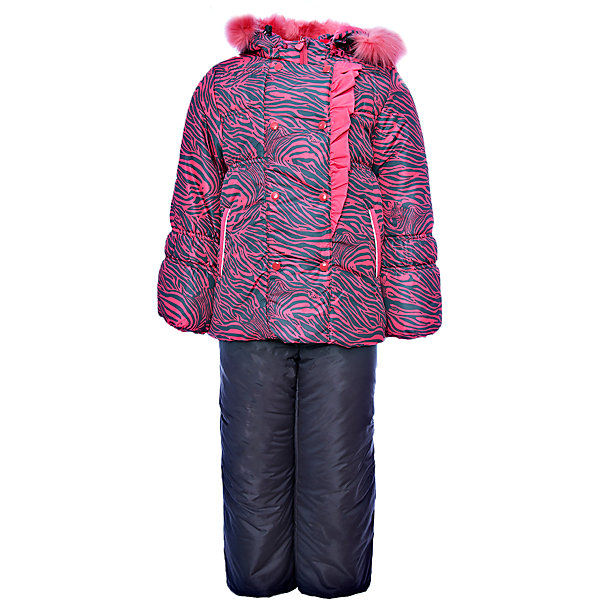 Комплект: куртка и полукомбинезон Берта OLDOS для девочкиВерхняя одежда<br>Характеристики товара:<br><br>• цвет: розовый<br>• комплектация: куртка и полукомбинезон<br>• состав ткани: 100% полиэстер, пропитка Teflon<br>• подкладка: хлопок, полиэстер<br>• утеплитель: Hollofan 250/200 г/м2<br>• подстежка: 60% шерсть, 40% полиэстер<br>• сезон: зима<br>• температурный режим: от -35 до 0<br>• застежка: молния<br>• капюшон: с мехом, съемный<br>• подстежка в комплекте<br>• страна бренда: Россия<br>• страна изготовитель: Россия<br><br>Обеспечить ребенку тепло и комфорт в мороз поможет такой теплый костюм для девочки. Этот зимний комплект состоит из куртки и удобного полукомбинезона. Подкладка зимнего комплекта комбинированная: хлопок и полиэстер. Зимний костюм для девочки дополнен элементами, помогающими скорректировать размер точно под ребенка. <br><br>Комплект: куртка и полукомбинезон Берта Oldos (Олдос) для девочки можно купить в нашем интернет-магазине.<br>Ширина мм: 356; Глубина мм: 10; Высота мм: 245; Вес г: 519; Цвет: розовый; Возраст от месяцев: 12; Возраст до месяцев: 18; Пол: Женский; Возраст: Детский; Размер: 86,116,110,104,98,92; SKU: 7016897;