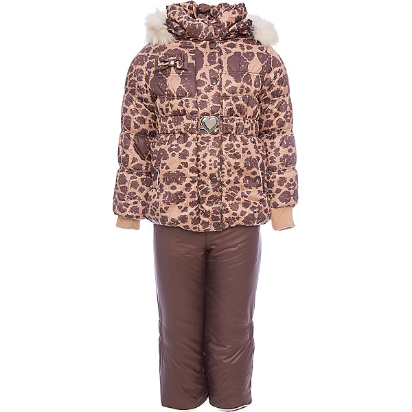Комплект: куртка и полукомбинезон Айрис OLDOS для девочкиВерхняя одежда<br>Характеристики товара:<br><br>• цвет: шоколад<br>• комплектация: куртка и полукомбинезон<br>• состав ткани: 100% полиэстер, пропитка Teflon<br>• подкладка: хлопок, полиэстер<br>• утеплитель: Hollofan 250/200 г/м2<br>• подстежка: 60% шерсть, 40% полиэстер<br>• сезон: зима<br>• температурный режим: от -35 до 0<br>• застежка: молния<br>• капюшон: с мехом, съемный<br>• подстежка в комплекте<br>• страна бренда: Россия<br>• страна изготовитель: Россия<br><br>Теплый детский комплект сделан из качественных материалов. Такой костюм для девочки дополнен шерстяной подстежкой. Зимний комплект для девочки дополнен удобными карманами регулируемыми подтяжками, капюшоном, планкой и внутренней манжетой. Этот детский комплект обеспечит тепло и комфорт даже в сильные холода.<br><br>Комплект: куртка и полукомбинезон Айрис Oldos (Олдос) для девочки можно купить в нашем интернет-магазине.<br><br>Ширина мм: 356<br>Глубина мм: 10<br>Высота мм: 245<br>Вес г: 519<br>Цвет: коричневый<br>Возраст от месяцев: 6<br>Возраст до месяцев: 9<br>Пол: Женский<br>Возраст: Детский<br>Размер: 74,104,98,92,86,80<br>SKU: 7016911