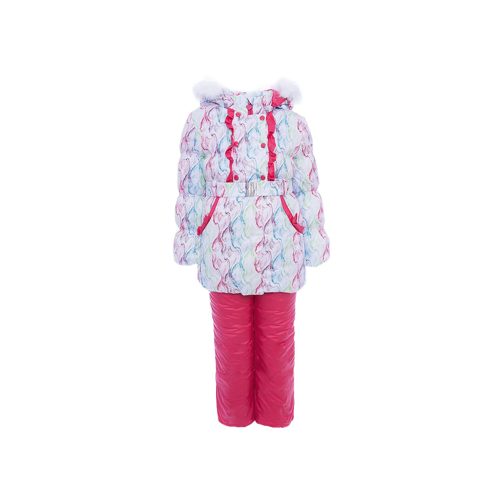 Комплект: куртка и полукомбинезон Симона OLDOS для девочкиВерхняя одежда<br>Характеристики товара:<br><br>• цвет: розовый<br>• комплектация: куртка и полукомбинезон<br>• состав ткани: 100% полиэстер, пропитка Teflon<br>• подкладка: хлопок, полиэстер<br>• утеплитель: Hollofan 250/200 г/м2<br>• подстежка: 60% шерсть, 40% полиэстер<br>• сезон: зима<br>• температурный режим: от -35 до 0<br>• застежка: молния<br>• капюшон: с мехом, съемный<br>• подстежка в комплекте<br>• страна бренда: Россия<br>• страна изготовитель: Россия<br><br>Этот зимний комплект состоит из куртки и удобного полукомбинезона, также с ним идет шерстяная подстежка. Обеспечить ребенку тепло и комфорт в мороз поможет такой теплый костюм для девочки. Подкладка зимнего комплекта комбинированная: хлопок и полиэстер. Зимний костюм для девочки дополнен элементами, помогающими скорректировать размер точно под ребенка. <br><br>Комплект: куртка и полукомбинезон Симона Oldos (Олдос) для девочки можно купить в нашем интернет-магазине.<br><br>Ширина мм: 356<br>Глубина мм: 10<br>Высота мм: 245<br>Вес г: 519<br>Цвет: розовый<br>Возраст от месяцев: 60<br>Возраст до месяцев: 72<br>Пол: Женский<br>Возраст: Детский<br>Размер: 116,86,92,98,104,110<br>SKU: 7016918