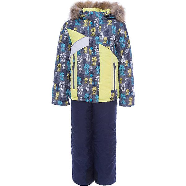 Комплект: куртка и полукомбинезон Артемий OLDOS для мальчикаВерхняя одежда<br>Характеристики товара:<br><br>• цвет: серый<br>• комплектация: куртка и полукомбинезон<br>• состав ткани: 100% полиэстер, Teflon<br>• подкладка: хлопок, полиэстер<br>• утеплитель: Hollofan 250/200 г/м2<br>• подстежка: 60% шерсть, 40% полиэстер<br>• сезон: зима<br>• температурный режим: от -35 до 0<br>• застежка: молния<br>• капюшон: с мехом, съемный<br>• подстежка в комплекте<br>• страна бренда: Россия<br>• страна изготовитель: Россия<br><br>Детский комплект для холодной погоды дополнен теплой подстежкой. Этот зимний костюм для мальчика легко чистится благодаря специальной пропитке ткани. Подкладка зимнего комплекта комбинированная: флис и гладкий полиэстер. Зимний костюм для мальчика дополнен элементами, помогающими скорректировать размер подрост ребенка. <br><br>Комплект: куртка и полукомбинезон Артемий Oldos (Олдос) для мальчика можно купить в нашем интернет-магазине.<br><br>Ширина мм: 356<br>Глубина мм: 10<br>Высота мм: 245<br>Вес г: 519<br>Цвет: серый<br>Возраст от месяцев: 60<br>Возраст до месяцев: 72<br>Пол: Мужской<br>Возраст: Детский<br>Размер: 116,86,92,98,104,110<br>SKU: 7016945