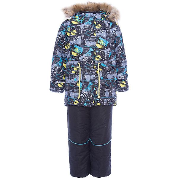 Комплект: куртка и полукомбинезон Марат OLDOS для мальчикаВерхняя одежда<br>Характеристики товара:<br><br>• цвет: черный<br>• комплектация: куртка и полукомбинезон<br>• состав ткани: 100% полиэстер, Teflon<br>• подкладка: хлопок, полиэстер<br>• утеплитель: Hollofan 250/200 г/м2<br>• подстежка: 60% шерсть, 40% полиэстер<br>• сезон: зима<br>• температурный режим: от -35 до 0<br>• застежка: молния<br>• капюшон: с мехом, съемный<br>• подстежка в комплекте<br>• страна бренда: Россия<br>• страна изготовитель: Россия<br><br>Наполнитель зимнего комплекта легкий и теплый. Зимний костюм для мальчика дополнен элементами, помогающими скорректировать размер точно под ребенка. Такой зимний комплект состоит из куртки и удобного полукомбинезона, также с ним идет шерстяная подстежка, которая отстегивается в более теплую погоду. <br><br>Комплект: куртка и полукомбинезон Марат Oldos (Олдос) для мальчика можно купить в нашем интернет-магазине.<br><br>Ширина мм: 356<br>Глубина мм: 10<br>Высота мм: 245<br>Вес г: 519<br>Цвет: черный<br>Возраст от месяцев: 12<br>Возраст до месяцев: 18<br>Пол: Мужской<br>Возраст: Детский<br>Размер: 86,122,116,110,104,98,92<br>SKU: 7016957
