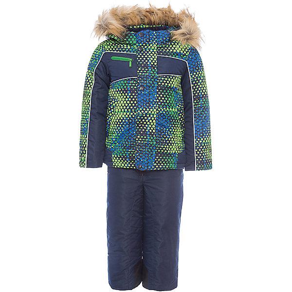 Комплект: куртка и полукомбинезон Оскар OLDOS для мальчикаВерхняя одежда<br>Характеристики товара:<br><br>• цвет: синий<br>• комплектация: куртка и полукомбинезон<br>• состав ткани: 100% полиэстер, Teflon<br>• подкладка: хлопок, полиэстер<br>• утеплитель: Hollofan 250/200 г/м2<br>• подстежка: 60% шерсть, 40% полиэстер<br>• сезон: зима<br>• температурный режим: от -35 до 0<br>• застежка: молния<br>• капюшон: с мехом, съемный<br>• износостойкие вставки на брючинах<br>• подстежка в комплекте<br>• страна бренда: Россия<br>• страна изготовитель: Россия<br><br>Практичный зимний костюм для мальчика благодаря тому, что на нем есть износостойкие вставки на брючинах. Детский комплект для холодной погоды дополнен теплой подстежкой. Подкладка зимнего комплекта комбинированная: флис и гладкий полиэстер. Зимний костюм для мальчика дополнен элементами, помогающими скорректировать размер подрост ребенка. <br><br>Комплект: куртка и полукомбинезон Оскар Oldos (Олдос) для мальчика можно купить в нашем интернет-магазине.<br><br>Ширина мм: 356<br>Глубина мм: 10<br>Высота мм: 245<br>Вес г: 519<br>Цвет: синий<br>Возраст от месяцев: 36<br>Возраст до месяцев: 48<br>Пол: Мужской<br>Возраст: Детский<br>Размер: 104,128,110<br>SKU: 7016965