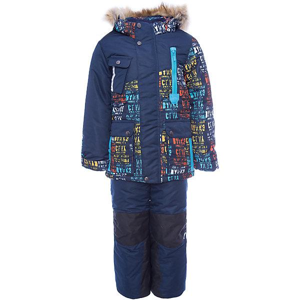 Комплект: куртка и полукомбинезон Ян OLDOS для мальчикаВерхняя одежда<br>Характеристики товара:<br><br>• цвет: синий<br>• комплектация: куртка и полукомбинезон<br>• состав ткани: 100% полиэстер, пропитка PU, Teflon<br>• подкладка: флис, полиэстер<br>• утеплитель: Hollofan 250/200 г/м2<br>• подстежка: 60% шерсть, 40% полиэстер<br>• сезон: зима<br>• температурный режим: от -35 до 0<br>• застежка: молния<br>• капюшон: с мехом, съемный<br>• подстежка в комплекте<br>• страна бренда: Россия<br>• страна изготовитель: Россия<br><br>Модный детский комплект обеспечит тепло и комфорт даже в сильные холода, этот зимний костюм сделан из качественных материалов. Зимний комплект для мальчика дополнен удобными карманами регулируемыми подтяжками, капюшоном, планкой и внутренней манжетой. Этот костюм для мальчика можно сделать теплее с помощью шерстяной подстежки. <br><br>Комплект: куртка и полукомбинезон Ян Oldos (Олдос) для мальчика можно купить в нашем интернет-магазине.<br><br>Ширина мм: 356<br>Глубина мм: 10<br>Высота мм: 245<br>Вес г: 519<br>Цвет: синий<br>Возраст от месяцев: 36<br>Возраст до месяцев: 48<br>Пол: Мужской<br>Возраст: Детский<br>Размер: 104,134,128,122,116,110<br>SKU: 7016969