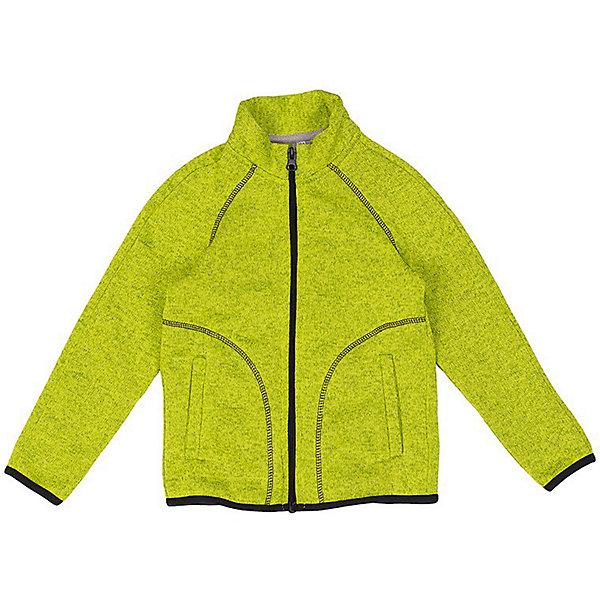 Кофта Бен OLDOS для мальчикаТолстовки<br>Характеристики товара:<br><br>• цвет: зеленый<br>• состав ткани: вязаный флис, полиэстер<br>• утеплитель: нет<br>• сезон: демисезон<br>• застежка: молния<br>• длинные рукава<br>• страна бренда: Россия<br>• страна изготовитель: Россия<br><br>Материал детской кофты - флис, с внешней стороны он имеет вязаную фактуру, внутри - ворсистую. Такая структура позволяет флисовой кофте согревать и отводить лишнюю влагу. Кофту для детей можно надевать для утепления под верхнюю одежду. Легкая кофта для ребенка отличается стильным дизайном. <br><br>Кофту Бен Oldos (Олдос) для мальчика можно купить в нашем интернет-магазине.<br>Ширина мм: 190; Глубина мм: 74; Высота мм: 229; Вес г: 236; Цвет: зеленый; Возраст от месяцев: 18; Возраст до месяцев: 24; Пол: Мужской; Возраст: Детский; Размер: 92,140,134,128,122,116,110,104,98; SKU: 7017137;