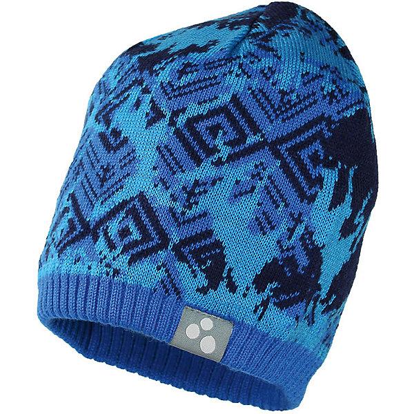 Купить Шапка Huppa Mount для мальчика, Эстония, синий, 47-49, 55-57, 57-59, 51-53, Мужской
