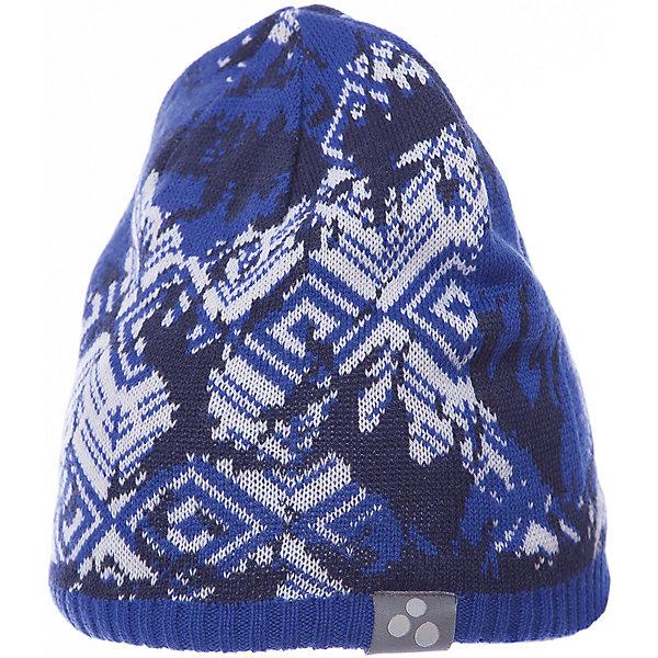 Купить Шапка Huppa Mount для мальчика, Эстония, синий, 55-57, 57-59, 47-49, 51-53, Мужской