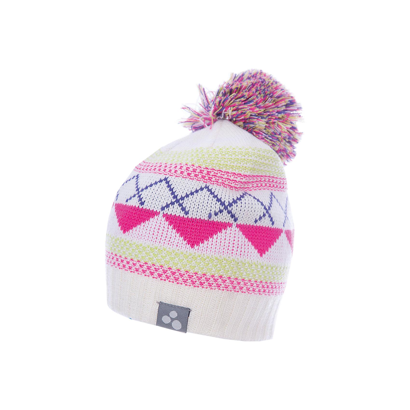 Шапка Huppa FerrisГоловные уборы<br>Вязаная детская шапка FERRIS.Теплая яркая вязанная шапочка c помпоном, прекрассно подойдет для повседневных прогулок в холодную погоду.<br>Состав:<br>50% мерс.шерсть, 50% акрил<br><br>Ширина мм: 89<br>Глубина мм: 117<br>Высота мм: 44<br>Вес г: 155<br>Цвет: белый<br>Возраст от месяцев: 132<br>Возраст до месяцев: 156<br>Пол: Унисекс<br>Возраст: Детский<br>Размер: 57-59,55-57,51-53,47-49<br>SKU: 7023946