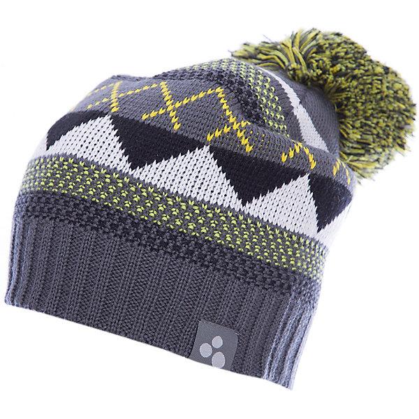 Купить Шапка Huppa Ferris для мальчика, Эстония, серый, 47-49, 57-59, 51-53, 55-57, Мужской