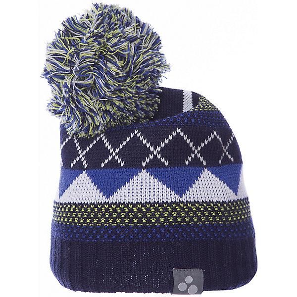 Купить Шапка Huppa Ferris для мальчика, Эстония, синий, 57-59, 55-57, 47-49, 51-53, Мужской