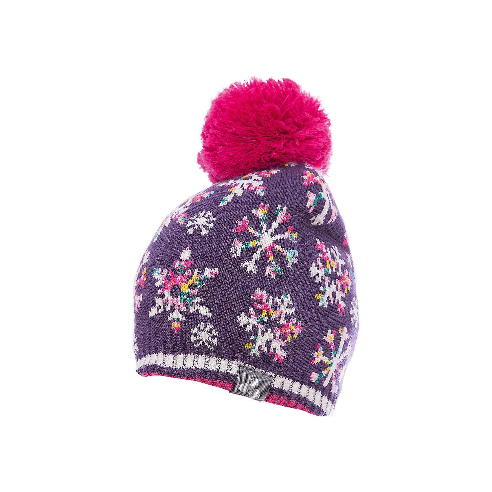 Шапка Huppa FlakeГоловные уборы<br>Вязаная детская шапка FLAKE.Теплая яркая вязанная шапочка c помпоном, прекрассно подойдет для повседневных прогулок в холодную погоду.<br>Состав:<br>50% мерс.шерсть, 50% акрил<br><br>Ширина мм: 89<br>Глубина мм: 117<br>Высота мм: 44<br>Вес г: 155<br>Цвет: лиловый<br>Возраст от месяцев: 132<br>Возраст до месяцев: 156<br>Пол: Унисекс<br>Возраст: Детский<br>Размер: 57-59,51-53,55-57,47-49<br>SKU: 7023981