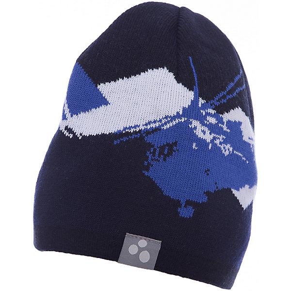 Шапка Huppa Carlos для мальчикаГоловные уборы<br>Характеристики товара:<br><br>• модель: Carlos;<br>• цвет: темно-синий;<br>• состав: 50% шерсть, 50% акрил; <br>• подкладка: 100% хлопок;<br>• двухслойная, без подкладки;<br>• сезон: зима;<br>• температурный режим: от 0°С до -20°С;<br>• помпон сверху<br>• особенности: вязаная;<br>• светоотражающая эмблема сбоку;<br>• страна бренда: Финляндия;<br>• страна изготовитель: Эстония.<br><br>Вязаная детская шапка Carlos. Теплая яркая вязанная шапочка c рисунком, прекрасно подойдет для повседневных прогулок в холодную погоду. <br><br>Шапку Huppa Carlos (Хуппа) можно купить в нашем интернет-магазине.<br><br>Ширина мм: 89<br>Глубина мм: 117<br>Высота мм: 44<br>Вес г: 155<br>Цвет: синий<br>Возраст от месяцев: 72<br>Возраст до месяцев: 132<br>Пол: Мужской<br>Возраст: Детский<br>Размер: 55-57,57-59,51-53<br>SKU: 7024003