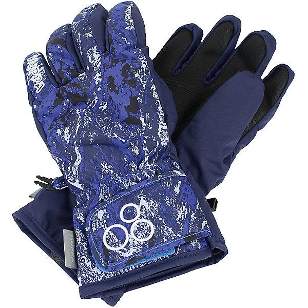 Перчатки Huppa Rixton 1 для мальчикаПерчатки, варежки<br>Характеристики товара:<br><br>• модель: Rixton 1;<br>• цвет: синий принт;<br>• состав: 100% полиэстер; <br>• подкладка: 100% полиэстер, флис;<br>• утеплитель: 90 г/м2;<br>• сезон: зима;<br>• температурный режим: от 0°С до -20°С;<br>• водонепроницаемость: 5000 мм;<br>• воздухопроницаемость: 5000 мм;<br>• водо- и ветронепроницаемый, дышащий материал;<br>• застежка-липучка;<br>• усиленная вставка на ладони;<br>• светоотражающие детали;<br>• страна бренда: Финляндия;<br>• страна изготовитель: Эстония.<br><br>Теплые зимние перчатки на флисовой подкладке. Материал водонепроницаем, что позволит сохранить ручки сухими. Перчатки с усилением на ладони и застежкой-липучкой.<br><br>Перчатки Huppa Rixton 1 (Хуппа) можно купить в нашем интернет-магазине.<br><br>Ширина мм: 162<br>Глубина мм: 171<br>Высота мм: 55<br>Вес г: 119<br>Цвет: синий<br>Возраст от месяцев: 108<br>Возраст до месяцев: 132<br>Пол: Мужской<br>Возраст: Детский<br>Размер: 8,3,4,5,6,7<br>SKU: 7024196