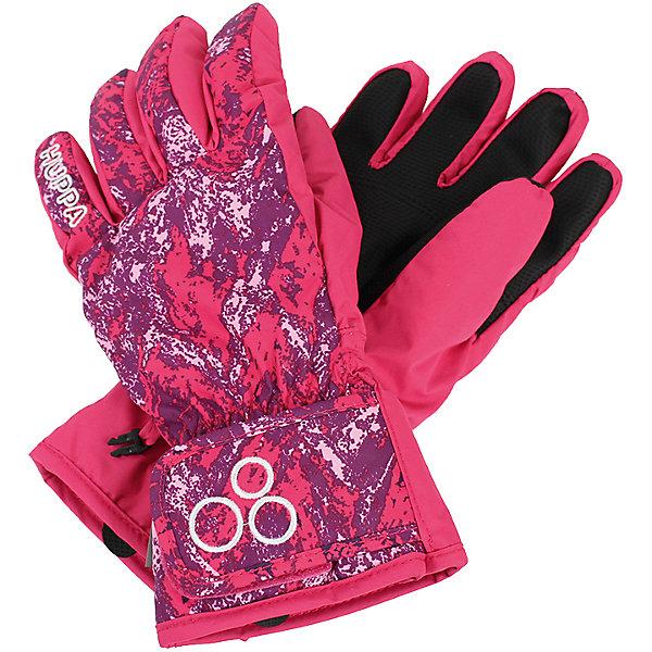 Перчатки Huppa Rixton 1 для девочкиПерчатки<br>Характеристики товара:<br><br>• модель: Rixton 1;<br>• цвет: розовый принт;<br>• состав: 100% полиэстер; <br>• подкладка: 100% полиэстер, флис;<br>• утеплитель: 90 г/м2;<br>• сезон: зима;<br>• температурный режим: от 0°С до -20°С;<br>• водонепроницаемость: 5000 мм;<br>• воздухопроницаемость: 5000 мм;<br>• водо- и ветронепроницаемый, дышащий материал;<br>• застежка-липучка;<br>• усиленная вставка на ладони;<br>• светоотражающие детали;<br>• страна бренда: Финляндия;<br>• страна изготовитель: Эстония.<br><br>Теплые зимние перчатки на флисовой подкладке. Материал водонепроницаем, что позволит сохранить ручки сухими. Перчатки с усилением на ладони и застежкой-липучкой.<br><br>Перчатки Huppa Rixton 1 (Хуппа) можно купить в нашем интернет-магазине.<br>Ширина мм: 162; Глубина мм: 171; Высота мм: 55; Вес г: 119; Цвет: фуксия; Возраст от месяцев: 72; Возраст до месяцев: 84; Пол: Женский; Возраст: Детский; Размер: 3,8,7,6,5,4; SKU: 7024203;