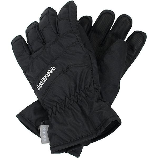 Перчатки Huppa RadfordПерчатки, варежки<br>Характеристики товара:<br><br>• модель: Radford;<br>• цвет: черный;<br>• состав: 100% полиэстер; <br>• подкладка: 100% полиэстер, флис;<br>• утеплитель: синтетический пух;<br>• сезон: зима;<br>• температурный режим: от 0°С до -20°С;<br>• водонепроницаемость: 5000 мм;<br>• воздухопроницаемость: 5000 мм;<br>• водо- и ветронепроницаемый, дышащий материал;<br>• усиленная вставка на ладони;<br>• светоотражающие детали;<br>• страна бренда: Финляндия;<br>• страна изготовитель: Эстония.<br><br>Теплые зимние перчатки на флисовой подкладке. Материал водонепроницаем, что позволит сохранить ручки сухими. Перчатки с усилением на ладони.<br><br>Перчатки Huppa Radford (Хуппа) можно купить в нашем интернет-магазине.<br><br>Ширина мм: 162<br>Глубина мм: 171<br>Высота мм: 55<br>Вес г: 119<br>Цвет: черный<br>Возраст от месяцев: 96<br>Возраст до месяцев: 120<br>Пол: Унисекс<br>Возраст: Детский<br>Размер: 4,8,6<br>SKU: 7024210