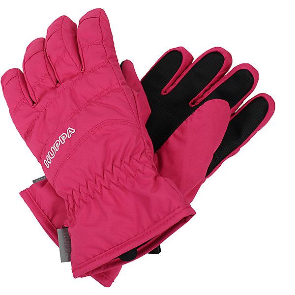 Перчатки Huppa Radford для девочкиПерчатки, варежки<br>Характеристики товара:<br><br>• модель: Radford;<br>• цвет: розовый;<br>• состав: 100% полиэстер; <br>• подкладка: 100% полиэстер, флис;<br>• утеплитель: синтетический пух;<br>• сезон: зима;<br>• температурный режим: от 0°С до -20°С;<br>• водонепроницаемость: 5000 мм;<br>• воздухопроницаемость: 5000 мм;<br>• водо- и ветронепроницаемый, дышащий материал;<br>• усиленная вставка на ладони;<br>• светоотражающие детали;<br>• страна бренда: Финляндия;<br>• страна изготовитель: Эстония.<br><br>Теплые зимние перчатки на флисовой подкладке. Материал водонепроницаем, что позволит сохранить ручки сухими. Перчатки с усилением на ладони.<br><br>Перчатки Huppa Radford (Хуппа) можно купить в нашем интернет-магазине.<br>Ширина мм: 162; Глубина мм: 171; Высота мм: 55; Вес г: 119; Цвет: фуксия; Возраст от месяцев: 96; Возраст до месяцев: 120; Пол: Женский; Возраст: Детский; Размер: 4,8,6; SKU: 7024218;