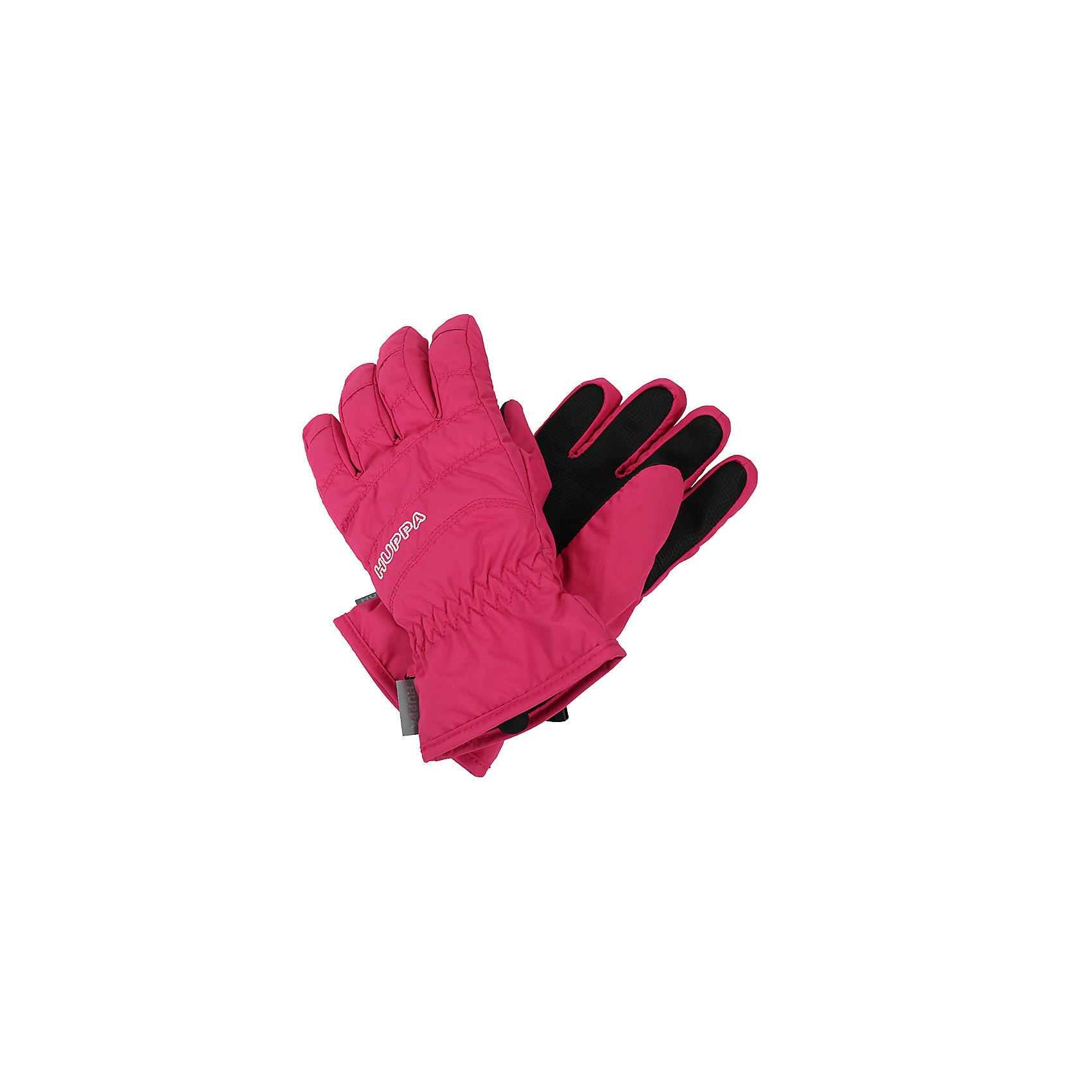 Перчатки Huppa RadfordПерчатки, варежки<br>Характеристики товара:<br><br>• модель: Radford;<br>• цвет: розовый;<br>• состав: 100% полиэстер; <br>• подкладка: 100% полиэстер, флис;<br>• утеплитель: синтетический пух;<br>• сезон: зима;<br>• температурный режим: от 0°С до -20°С;<br>• водонепроницаемость: 5000 мм;<br>• воздухопроницаемость: 5000 мм;<br>• водо- и ветронепроницаемый, дышащий материал;<br>• усиленная вставка на ладони;<br>• светоотражающие детали;<br>• страна бренда: Финляндия;<br>• страна изготовитель: Эстония.<br><br>Теплые зимние перчатки на флисовой подкладке. Материал водонепроницаем, что позволит сохранить ручки сухими. Перчатки с усилением на ладони.<br><br>Перчатки Huppa Radford (Хуппа) можно купить в нашем интернет-магазине.<br><br>Ширина мм: 162<br>Глубина мм: 171<br>Высота мм: 55<br>Вес г: 119<br>Цвет: фуксия<br>Возраст от месяцев: 108<br>Возраст до месяцев: 132<br>Пол: Унисекс<br>Возраст: Детский<br>Размер: 8,4,6<br>SKU: 7024218