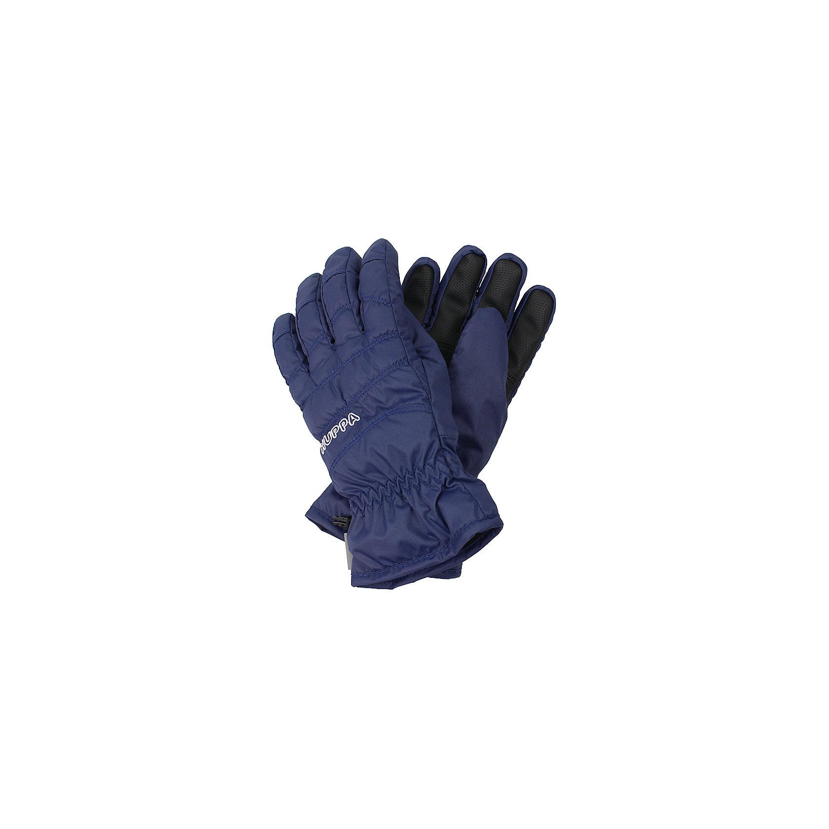 Перчатки Huppa RadfordПерчатки, варежки<br>Характеристики товара:<br><br>• модель: Radford;<br>• цвет: фиолетовый;<br>• состав: 100% полиэстер; <br>• подкладка: 100% полиэстер, флис;<br>• утеплитель: синтетический пух;<br>• сезон: зима;<br>• температурный режим: от 0°С до -20°С;<br>• водонепроницаемость: 5000 мм;<br>• воздухопроницаемость: 5000 мм;<br>• водо- и ветронепроницаемый, дышащий материал;<br>• усиленная вставка на ладони;<br>• светоотражающие детали;<br>• страна бренда: Финляндия;<br>• страна изготовитель: Эстония.<br><br>Теплые зимние перчатки на флисовой подкладке. Материал водонепроницаем, что позволит сохранить ручки сухими. Перчатки с усилением на ладони.<br><br>Перчатки Huppa Radford (Хуппа) можно купить в нашем интернет-магазине.<br><br>Ширина мм: 162<br>Глубина мм: 171<br>Высота мм: 55<br>Вес г: 119<br>Цвет: синий<br>Возраст от месяцев: 96<br>Возраст до месяцев: 120<br>Пол: Унисекс<br>Возраст: Детский<br>Размер: 4,6,8<br>SKU: 7024222
