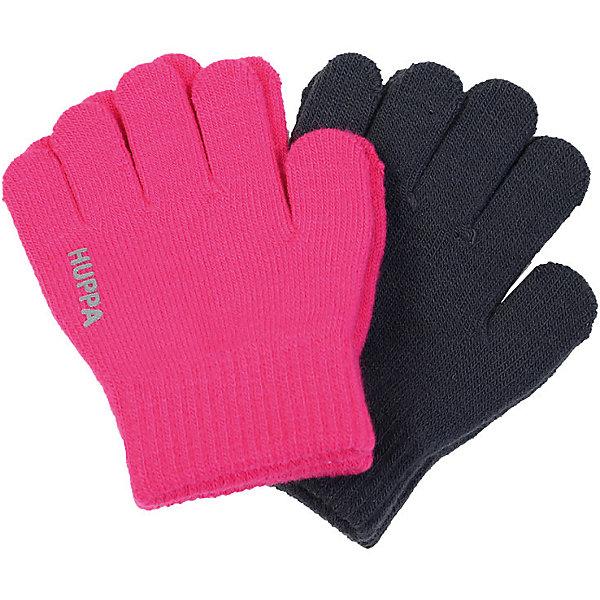 Перчатки Huppa Levi 2, 2 пары для девочкиПерчатки, варежки<br>Характеристики товара:<br><br>• модель: Levi 2;<br>• цвет: розовый/серый;<br>• состав: 100% акрил; <br>• без дополнительного утепления;<br>• сезон: зима;<br>• температурный режим: от +10°С до -20°С;<br>• светоотражающая надпись;<br>• страна бренда: Финляндия;<br>• страна изготовитель: Эстония.<br><br>Вязаные перчатки Levi 2 от Хуппа. В комплекте 2 пары перчаток. Можно носить в демисезон как отдельный элемент одежды или поддевать зимой как дополнительный слой.<br><br>Перчатки Huppa Levi 2 (Хуппа) можно купить в нашем интернет-магазине.<br><br>Ширина мм: 162<br>Глубина мм: 171<br>Высота мм: 55<br>Вес г: 119<br>Цвет: фуксия<br>Возраст от месяцев: 3<br>Возраст до месяцев: 6<br>Пол: Женский<br>Возраст: Детский<br>Размер: 1,2<br>SKU: 7024239