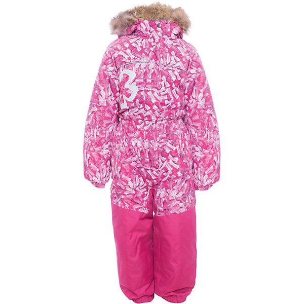 Комбинезон CHLOE 1 Huppa для девочкиВерхняя одежда<br>Характеристики товара:<br><br>• модель: Chloe 1;<br>• цвет: фуксия,принт ;<br>• пол: девочка ;<br>• состав: 100% полиэстер;<br>• утеплитель: полиэстер, 300 гр.;<br>• подкладка: тафта/флис;<br>• сезон: зима;<br>• температурный режим: от -5 до - 30С;<br>• водонепроницаемость: 5000 мм вверх/10000 мм низ ;<br>• воздухопроницаемость: 5000 вверх/ 10000 низ г/м2/24ч;<br>• водо- и ветронепроницаемый, дышащий и грязеотталкивающий материал;<br>• особенности модели: c рисунком, с мехом;<br>• капюшон для большего удобства крепится на кнопки и, при необходимости, отстегивается;<br>• искусственный мех на капюшоне съемный ;<br>• сиденье и нижний край брючины выполнены из очень прочной ткани Cordura;<br>• cидельный шов, внутренние и боковые швы проклеены и не пропускают влагу;<br>• светоотражающих элементов для безопасности ребенка;<br>• внутренний и боковые карманы застегиваются на молнию;<br>• манжеты брюк и рукавов эластичные, на резинках;<br>• съемные силиконовые штрипки;<br>• страна бренда: Финляндия;<br>• страна изготовитель: Эстония.<br><br>Комбинезон Chloe 1 для девочки Водо и воздухонепроницаемый. Важный критерий при выборе комбинезона для девочки - это количество утеплителя, ведь малыши еще малоподвижны, поэтому комбинезон должен быть теплым. В модели Chloe 1 300 грамм утеплителя, которые обеспечат тепло и комфорт ребенку при температуре от -5 до -30 градусов. Подкладка — тафта/флис. <br><br>Функциональные элемент: капюшон отстегивается с помощью кнопок, мех отстегивается, все карманы на молнии, манжеты на резинке, съемные силиконовые штрипки, светоотражающие элементы.<br><br>Комбинезон  Chloe 1  для девочки Huppa (Хуппа) можно купить в нашем интернет-магазине.<br>Ширина мм: 356; Глубина мм: 10; Высота мм: 245; Вес г: 519; Цвет: фуксия; Возраст от месяцев: 96; Возраст до месяцев: 108; Пол: Женский; Возраст: Детский; Размер: 134,92,98,104,110,116,122,128; SKU: 7024544;