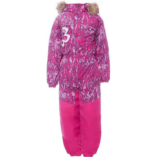 Комбинезон CHLOE 1 Huppa для девочкиКомбинезоны<br>Характеристики товара:<br><br>• модель: Chloe 1;<br>• цвет: фуксия,принт ;<br>• пол: девочка ;<br>• состав: 100% полиэстер;<br>• утеплитель: полиэстер, 300 гр.;<br>• подкладка: тафта/флис;<br>• сезон: зима;<br>• температурный режим: от -5 до - 30С;<br>• водонепроницаемость: 5000 мм вверх/10000 мм низ ;<br>• воздухопроницаемость: 5000 вверх/ 10000 низ г/м2/24ч;<br>• водо- и ветронепроницаемый, дышащий и грязеотталкивающий материал;<br>• особенности модели: c рисунком, с мехом;<br>• капюшон для большего удобства крепится на кнопки и, при необходимости, отстегивается;<br>• искусственный мех на капюшоне съемный ;<br>• сиденье и нижний край брючины выполнены из очень прочной ткани Cordura;<br>• cидельный шов, внутренние и боковые швы проклеены и не пропускают влагу;<br>• светоотражающих элементов для безопасности ребенка;<br>• внутренний и боковые карманы застегиваются на молнию;<br>• манжеты брюк и рукавов эластичные, на резинках;<br>• съемные силиконовые штрипки;<br>• страна бренда: Финляндия;<br>• страна изготовитель: Эстония.<br><br>Комбинезон Chloe 1 для девочки Водо и воздухонепроницаемый. Важный критерий при выборе комбинезона для девочки - это количество утеплителя, ведь малыши еще малоподвижны, поэтому комбинезон должен быть теплым. В модели Chloe 1 300 грамм утеплителя, которые обеспечат тепло и комфорт ребенку при температуре от -5 до -30 градусов. Подкладка — тафта/флис. <br><br>Функциональные элемент: капюшон отстегивается с помощью кнопок, мех отстегивается, все карманы на молнии, манжеты на резинке, съемные силиконовые штрипки, светоотражающие элементы.<br><br>Комбинезон  Chloe 1  для девочки Huppa (Хуппа) можно купить в нашем интернет-магазине.<br>Ширина мм: 356; Глубина мм: 10; Высота мм: 245; Вес г: 519; Цвет: фуксия; Возраст от месяцев: 96; Возраст до месяцев: 108; Пол: Женский; Возраст: Детский; Размер: 134,128,122,116,110,104,98,92; SKU: 7024553;