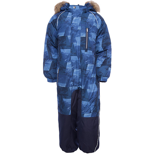 Комбинезон FENNO Huppa для мальчикаВерхняя одежда<br>Характеристики товара:<br><br>• модель: Fenno;<br>• цвет: синий;<br>• пол: мальчик ;<br>• состав: 100% полиэстер;<br>• утеплитель: полиэстер, 300 гр.;<br>• подкладка: тафта/флис;<br>• сезон: зима;<br>• температурный режим: от -5 до - 30С;<br>• водонепроницаемость: 10000 мм  ;<br>• воздухопроницаемость: 10000 г/м2/24ч;<br>• водо- и ветронепроницаемый, дышащий и грязеотталкивающий материал;<br>• особенности модели: c рисунком, с мехом;<br>• капюшон для большего удобства крепится на кнопки и, при необходимости, отстегивается;<br>• искусственный мех на капюшоне съемный ;<br>• cидельный шов, внутренние и боковые швы проклеены и не пропускают влагу;<br>•  cиденье и нижний край брючины выполнены из очень прочной ткани Cordura;<br>• светоотражающих элементов для безопасности в темное время суток ;<br>• внутренний и боковые карманы застегиваются на молнию;<br>• манжеты брюк и рукавов  на резинках;<br>• съемные силиконовые штрипки;<br>• внутренняя регулировка обхвата талии;<br>• страна бренда: Финляндия;<br>• страна изготовитель: Эстония.<br><br>Комбинезон Fenno для мальчика Водо и воздухонепроницаемый. Важный критерий при выборе комбинезона для малыша - это количество утеплителя, ведь малыши еще малоподвижны, поэтому комбинезон должен быть теплым. В модели Fenno  300 грамм утеплителя, которые обеспечат тепло и комфорт ребенку при температуре от -5 до -30 градусов. Подкладка — тафта/флис. <br><br>Функциональные элемент: капюшон отстегивается с помощью кнопок, мех отстегивается, все карманы на молнии, манжеты на резинке, съемные силиконовые штрипки, внутренняя регулировка обхвата талии, светоотражающие элементы.<br><br>Комбинезон Fenno для мальчика  Huppa (Хуппа) можно купить в нашем интернет-магазине.<br>Ширина мм: 356; Глубина мм: 10; Высота мм: 245; Вес г: 519; Цвет: синий; Возраст от месяцев: 18; Возраст до месяцев: 24; Пол: Мужской; Возраст: Детский; Размер: 92,134,128,122,116,110,104,98; SKU: 7024571;