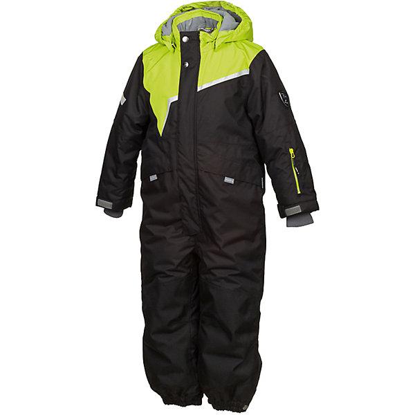 Комбинезон OWEN Huppa для мальчикаКомбинезоны<br>Характеристики товара:<br><br>• модель: Owen;<br>• состав: 100% полиэстер;<br>• утеплитель: полиэстер, 200 гр.;<br>• подкладка: теплоотражающая Huppa Tec, тафта, флис;<br>• сезон: зима;<br>• температурный режим: от -5 до - 30С;<br>• водонепроницаемость: 10000 мм  ;<br>• воздухопроницаемость: 10000 г/м2/24ч;<br>• водо- и ветронепроницаемый, дышащий и грязеотталкивающий материал;<br>• особенности модели: c рисунком;<br>• капюшон при необходимости отстегивается<br>• cидельный шов, внутренние и боковые швы проклеены и не пропускают влагу;<br>•  cиденье и нижний край брючины выполнены из очень прочной ткани Cordura;<br>• светоотражающих элементов для безопасности ребенка ;<br>• все карманы застегиваются на молнию;<br>• рукава регулируются по ширине, внутри есть дополнительный трикотажный манжет; <br>• манжеты брюк на резинках, с кнопками для изменения ширины<br>• съемные силиконовые штрипки;<br>• внутренняя регулировка обхвата талии;<br>• страна бренда: Финляндия;<br>• страна изготовитель: Эстония.<br><br>Зимний комбинезон Owen для мальчика бренда HUPPA влагонепроницаемый и дышащий. Материал с утеплителем 200 грамм подойдет на температуру от -5 до -30 градусов. Подкладка — теплоотражающая Huppa Tec, тафта, флис. Нижняя часть комбинезона выполнена из материала повышенной прочности Cordura. Для удобства надевания высокой обуви, низ штанин регулируется кнопкой. <br><br>Функциональные элементы: капюшон отстегивается с помощью кнопок, карманы на молнии, трикотажные манжеты,манжеты регулируются с помощью кнопки, утяжка на талии, подол штанин регулируется кнопкой, все швы проклеены, съемные силиконовые штрипки, все детали укреплены, светоотражающие элементы.<br><br>Зимний комбинезон Owen для мальчика бренда HUPPA  можно купить в нашем интернет-магазине.<br><br>Ширина мм: 356<br>Глубина мм: 10<br>Высота мм: 245<br>Вес г: 519<br>Цвет: черный<br>Возраст от месяцев: 18<br>Возраст до месяцев: 24<br>Пол: Мужской<br>Возраст: Детский<br>