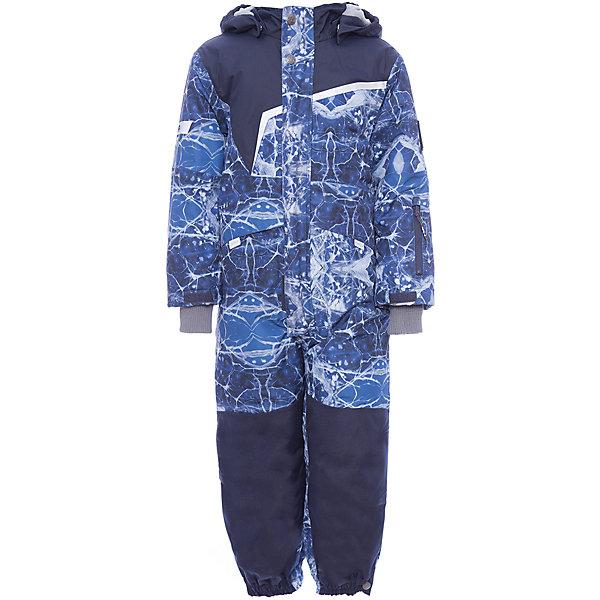 Комбинезон OWEN Huppa для мальчикаВерхняя одежда<br>Характеристики товара:<br><br>• модель: Owen;<br>• состав: 100% полиэстер;<br>• утеплитель: полиэстер, 200 гр.;<br>• подкладка: теплоотражающая Huppa Tec, тафта, флис;<br>• сезон: зима;<br>• температурный режим: от -5 до - 30С;<br>• водонепроницаемость: 10000 мм;<br>• воздухопроницаемость: 10000 г/м2/24ч;<br>• водо- и ветронепроницаемый, дышащий и грязеотталкивающий материал;<br>• особенности модели: c рисунком;<br>• капюшон при необходимости отстегивается<br>• cидельный шов, внутренние и боковые швы проклеены и не пропускают влагу;<br>• сзади и нижний край брючины выполнены из очень прочной ткани Cordura;<br>• светоотражающих элементов для безопасности ребенка ;<br>• все карманы застегиваются на молнию;<br>• рукава регулируются по ширине, внутри есть дополнительный трикотажный манжет; <br>• манжеты брюк на резинках, с кнопками для изменения ширины<br>• съемные силиконовые штрипки;<br>• внутренняя регулировка обхвата талии;<br>• страна бренда: Финляндия;<br>• страна изготовитель: Эстония.<br><br>Зимний комбинезон Owen для мальчика бренда HUPPA влагонепроницаемый и дышащий. Материал с утеплителем 200 грамм подойдет на температуру от -5 до -30 градусов. Подкладка — теплоотражающая Huppa Tec, тафта, флис. Нижняя часть комбинезона выполнена из материала повышенной прочности Cordura. Для удобства надевания высокой обуви, низ штанин регулируется кнопкой. <br><br>Функциональные элементы: капюшон отстегивается с помощью кнопок, карманы на молнии, трикотажные манжеты,манжеты регулируются с помощью кнопки, утяжка на талии, подол штанин регулируется кнопкой, все швы проклеены, съемные силиконовые штрипки, все детали укреплены, светоотражающие элементы.<br><br>Зимний комбинезон Owen для мальчика бренда HUPPA  можно купить в нашем интернет-магазине.<br>Ширина мм: 356; Глубина мм: 10; Высота мм: 245; Вес г: 519; Цвет: синий; Возраст от месяцев: 18; Возраст до месяцев: 24; Пол: Мужской; Возраст: Детский; Размер: 92,140,134,128,12
