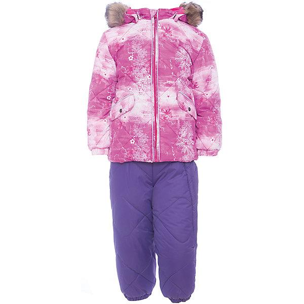 Комплект: куртка и брюки NOELLE 1 HuppaВерхняя одежда<br>Характеристики товара:<br><br>• модель: Noelle 1;<br>• цвет: фуксия принт/ фиолетовый;<br>• пол: девочка ;<br>• состав: 100% полиэстер;<br>• утеплитель: полиэстер, 300 гр куртка / 160гр брюки;<br>• подкладка: куртка: полиэстер - тафта / полукомбинезон: 100% хлопок - фланель;<br>• сезон: зима;<br>• температурный режим: от -5 до - 30С;<br>• водонепроницаемость: 5000 мм  ;<br>• воздухопроницаемость: 5000 г/м2/24ч;<br>• водо- и ветронепроницаемый, дышащий и грязеотталкивающий материал;<br>• особенности модели: c рисунком; с мехом;<br>• капюшон при необходимости отстегивается;<br>• искусственный мех на капюшоне съемный ;<br>• защита подбородка от защемления;<br>• светоотражающих элементов для безопасности ребенка ;<br>• карманы на кнопках;<br>• манжеты рукавов на резинке; <br>• манжеты брюк на резинках;<br>• съемные силиконовые штрипки;<br>• внутренняя регулировка обхвата талии;<br>• страна бренда: Финляндия;<br>• страна изготовитель: Эстония.<br><br>Зимний комплект Noelle 1 для девочки бренда HUPPA влагонепроницаемый и дышащий. Куртка с утеплителем 300 гр и брюки с утеплителем 160 гр подойдут на температуру от -5 до -30 градусов. Подкладка —фланель - 100% хлопок,тафта.<br><br>Функциональные элементы: Куртка: капюшон отстегивается с помощью кнопок, мех отстегивается, защита подбородка от защемления, мягкая меховая подкладка, карманы на кнопках, манжеты на резинке, светоотражающие элементы. Брюки: регулируемые лямки, удлиненная косая молния, карман без застежек, подол штанин на резинке, съемные силиконовые штрипки, светоотражающие элементы. <br><br>Зимний комплект Noelle 1 для девочки бренда HUPPA  можно купить в нашем интернет-магазине.<br><br>Ширина мм: 356<br>Глубина мм: 10<br>Высота мм: 245<br>Вес г: 519<br>Цвет: фуксия<br>Возраст от месяцев: 12<br>Возраст до месяцев: 18<br>Пол: Женский<br>Возраст: Детский<br>Размер: 86,80,104,98,92<br>SKU: 7024664