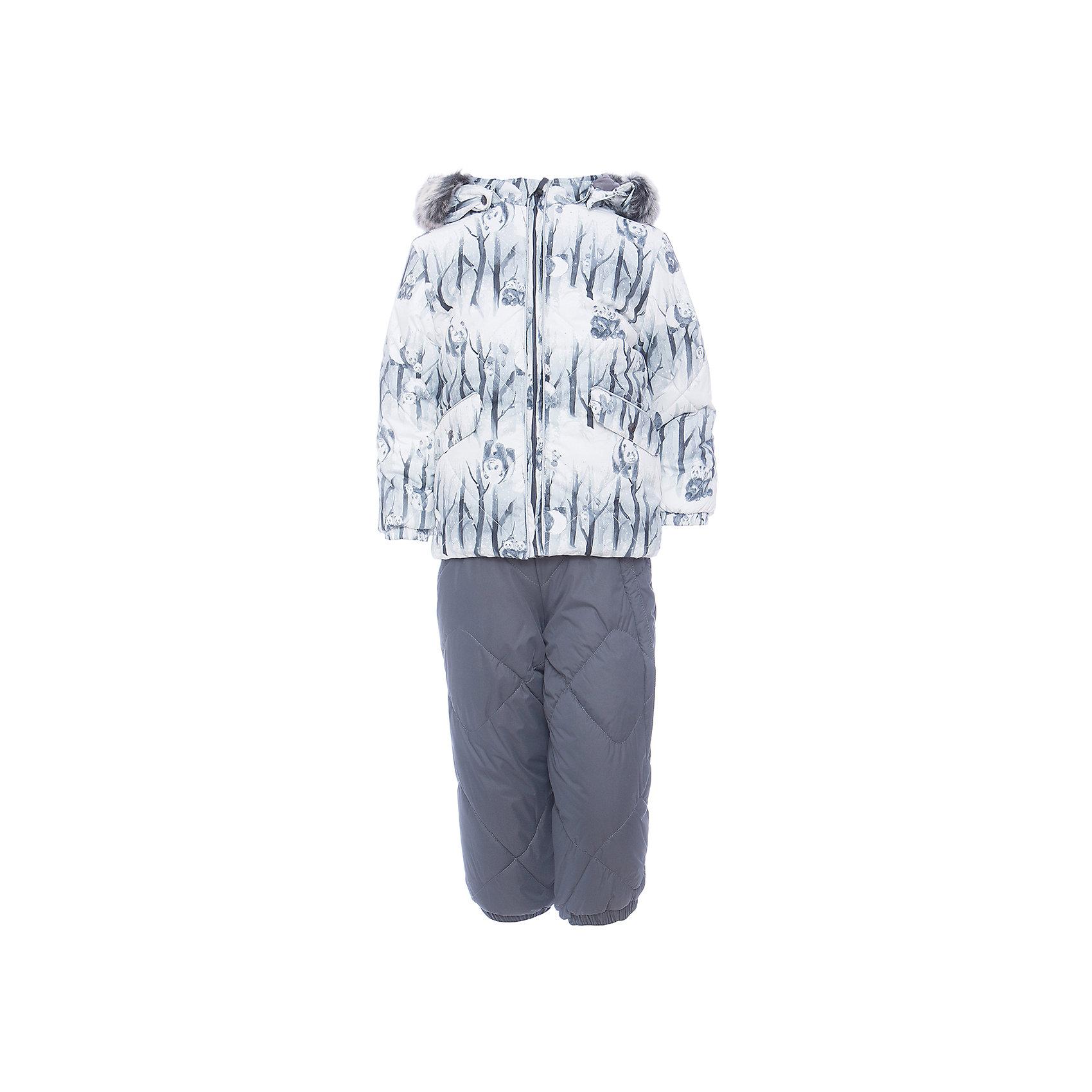 Комплект: куртка и брюки NOELLE 1 HuppaКомплекты<br>Комплект для малышей  NOELLE 1.Водо и водухонепроницаемость 5 000. Утеплитель: 300 гр куртка / 160 гр. Брюки.Подкладка фланель - 100% хлопок,тафта 100% полиэстер.Капюшон с отстегивающимся мехом.Манжеты рукавов на резинке .Манжеты брюк на резинке.На брюках присутствуют резиновые подтяжки.Имеются петли для ступней. На изделии присутствуют светоотражательные детали.<br>Состав:<br>100% Полиэстер<br><br>Ширина мм: 356<br>Глубина мм: 10<br>Высота мм: 245<br>Вес г: 519<br>Цвет: белый<br>Возраст от месяцев: 6<br>Возраст до месяцев: 9<br>Пол: Унисекс<br>Возраст: Детский<br>Размер: 74,104,98,92,86,80<br>SKU: 7024670