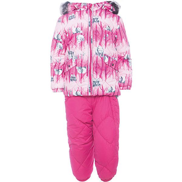 Комплект: куртка и брюки NOELLE 1 Huppa для девочкиВерхняя одежда<br>Характеристики товара:<br><br>• модель: Noelle 1;<br>• цвет: фуксия;<br>• пол: девочка ;<br>• состав: 100% полиэстер;<br>• утеплитель: полиэстер, 300 гр куртка / 160гр брюки;<br>• подкладка: куртка: полиэстер - тафта / полукомбинезон: 100% хлопок - фланель;<br>• сезон: зима;<br>• температурный режим: от -5 до - 30С;<br>• водонепроницаемость: 5000 мм  ;<br>• воздухопроницаемость: 5000 г/м2/24ч;<br>• водо- и ветронепроницаемый, дышащий и грязеотталкивающий материал;<br>• особенности модели: c рисунком; с мехом;<br>• капюшон при необходимости отстегивается;<br>• искусственный мех на капюшоне съемный ;<br>• защита подбородка от защемления;<br>• светоотражающих элементов для безопасности ребенка ;<br>• карманы на кнопках;<br>• манжеты рукавов на резинке; <br>• манжеты брюк на резинках;<br>• съемные силиконовые штрипки;<br>• внутренняя регулировка обхвата талии;<br>• страна бренда: Финляндия;<br>• страна изготовитель: Эстония.<br><br>Зимний комплект Noelle 1 для девочки бренда HUPPA влагонепроницаемый и дышащий. Куртка с утеплителем 300 гр и брюки с утеплителем 160 гр подойдут на температуру от -5 до -30 градусов. Подкладка —фланель - 100% хлопок,тафта.<br><br>Функциональные элементы: Куртка: капюшон отстегивается с помощью кнопок, мех отстегивается, защита подбородка от защемления, мягкая меховая подкладка, карманы на кнопках, манжеты на резинке, светоотражающие элементы. Брюки: регулируемые лямки, удлиненная косая молния, карман без застежек, подол штанин на резинке, съемные силиконовые штрипки, светоотражающие элементы. <br><br>Зимний комплект Noelle 1 для девочки бренда HUPPA  можно купить в нашем интернет-магазине.<br><br>Ширина мм: 356<br>Глубина мм: 10<br>Высота мм: 245<br>Вес г: 519<br>Цвет: фуксия<br>Возраст от месяцев: 18<br>Возраст до месяцев: 24<br>Пол: Женский<br>Возраст: Детский<br>Размер: 92,98,104,80,86<br>SKU: 7024690