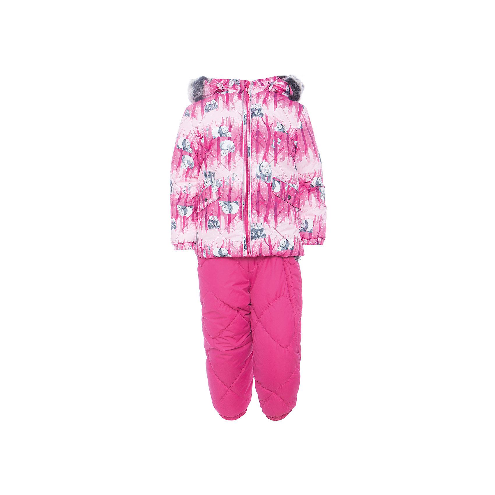Комплект: куртка и брюки NOELLE 1 HuppaВерхняя одежда<br>Характеристики товара:<br><br>• модель: Noelle 1;<br>• цвет: фуксия;<br>• пол: девочка ;<br>• состав: 100% полиэстер;<br>• утеплитель: полиэстер, 300 гр куртка / 160гр брюки;<br>• подкладка: куртка: полиэстер - тафта / полукомбинезон: 100% хлопок - фланель;<br>• сезон: зима;<br>• температурный режим: от -5 до - 30С;<br>• водонепроницаемость: 5000 мм  ;<br>• воздухопроницаемость: 5000 г/м2/24ч;<br>• водо- и ветронепроницаемый, дышащий и грязеотталкивающий материал;<br>• особенности модели: c рисунком; с мехом;<br>• капюшон при необходимости отстегивается;<br>• искусственный мех на капюшоне съемный ;<br>• защита подбородка от защемления;<br>• светоотражающих элементов для безопасности ребенка ;<br>• карманы на кнопках;<br>• манжеты рукавов на резинке; <br>• манжеты брюк на резинках;<br>• съемные силиконовые штрипки;<br>• внутренняя регулировка обхвата талии;<br>• страна бренда: Финляндия;<br>• страна изготовитель: Эстония.<br><br>Зимний комплект Noelle 1 для девочки бренда HUPPA влагонепроницаемый и дышащий. Куртка с утеплителем 300 гр и брюки с утеплителем 160 гр подойдут на температуру от -5 до -30 градусов. Подкладка —фланель - 100% хлопок,тафта.<br><br>Функциональные элементы: Куртка: капюшон отстегивается с помощью кнопок, мех отстегивается, защита подбородка от защемления, мягкая меховая подкладка, карманы на кнопках, манжеты на резинке, светоотражающие элементы. Брюки: регулируемые лямки, удлиненная косая молния, карман без застежек, подол штанин на резинке, съемные силиконовые штрипки, светоотражающие элементы. <br><br>Зимний комплект Noelle 1 для девочки бренда HUPPA  можно купить в нашем интернет-магазине.<br><br>Ширина мм: 356<br>Глубина мм: 10<br>Высота мм: 245<br>Вес г: 519<br>Цвет: фуксия<br>Возраст от месяцев: 36<br>Возраст до месяцев: 48<br>Пол: Унисекс<br>Возраст: Детский<br>Размер: 104,80,86,92,98<br>SKU: 7024690