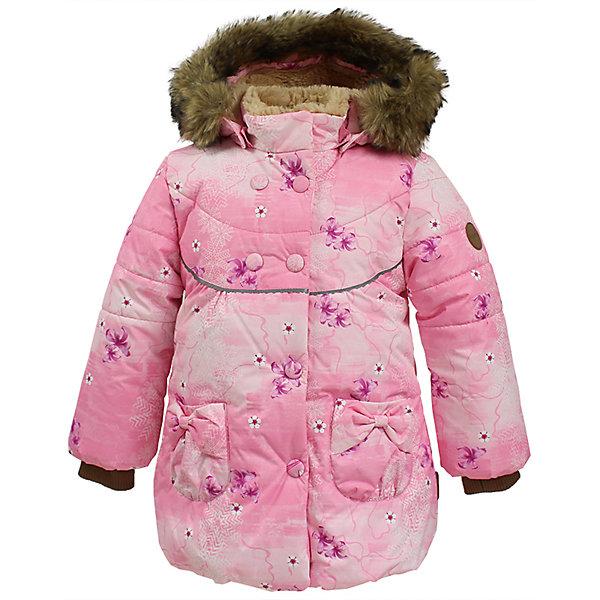 Куртка OLIVIA Huppa для девочкиЗимние куртки<br>Характеристики товара:<br><br>• модель: Olivia;<br>• цвет: розовый;<br>• состав: 100% полиэстер;<br>• утеплитель: полиэстер,300 гр.;<br>• подкладка: Teddy Fur, тафта,полиэстер;<br>• сезон: зима;<br>• температурный режим: от -5 до - 30С;<br>• водонепроницаемость: 5000 мм;<br>• воздухопроницаемость: 5000 г/м2/24ч;<br>• особенности модели: c рисунком; с мехом на капюшоне;<br>• защитная планка молнии на кнопках;<br>• защита подбородка от защемления;<br>• мягкая меховая подкладка;<br>• безопасный капюшон крепится на кнопки и, при необходимости, отстегивается;<br>• искусственный мех на капюшоне съемный;<br>• спереди расположены два накладныхкармана, с декором в виде бантиков;<br>• светоотражающие элементы для безопасности ребенка;<br>•  трикотажные манжеты; <br>• страна бренда: Финляндия;<br>• страна изготовитель: Эстония.<br><br>Зимняя куртка с капюшоном Olivia для девочки изготовлена из водо и ветронепроницаемого, грязеотталкивающего материала. В куртке Olivia 300 грамм утеплителя, которые обеспечат тепло и комфорт ребенку при температуре от -5 до -30 градусов.Подкладка —Teddy Fur,тафта.<br><br>Функциональные элементы: капюшон отстегивается с помощью кнопок, мех отстегивается, защитная планка молнии на кнопках, защита подбородка от защемления, мягкая меховая подкладка, карманы без застежек, трикотажные манжеты, светоотражающие элементы. <br><br>Куртку Olivia для девочки бренда HUPPA  можно купить в нашем интернет-магазине.<br>Ширина мм: 356; Глубина мм: 10; Высота мм: 245; Вес г: 519; Цвет: розовый; Возраст от месяцев: 36; Возраст до месяцев: 48; Пол: Женский; Возраст: Детский; Размер: 104,98,92,86,80,122,116,110; SKU: 7024846;