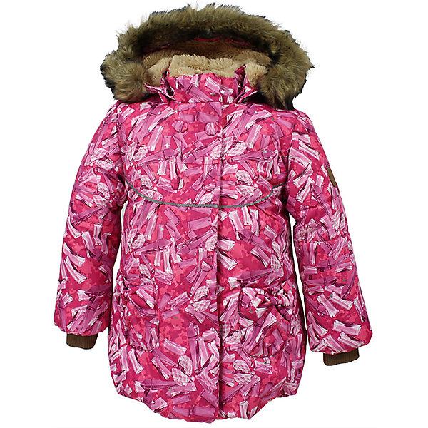 Куртка OLIVIA Huppa для девочкиВерхняя одежда<br>Характеристики товара:<br><br>• модель: Olivia;<br>• цвет: фуксия;<br>• состав: 100% полиэстер;<br>• утеплитель: полиэстер,300 гр.;<br>• подкладка: Teddy Fur, тафта,полиэстер;<br>• сезон: зима;<br>• температурный режим: от -5 до - 30С;<br>• водонепроницаемость: 5000 мм;<br>• воздухопроницаемость: 5000 г/м2/24ч;<br>• особенности модели: c рисунком; с мехом на капюшоне;<br>• защитная планка молнии на кнопках;<br>• защита подбородка от защемления;<br>• мягкая меховая подкладка;<br>• безопасный капюшон крепится на кнопки и, при необходимости, отстегивается;<br>• искусственный мех на капюшоне съемный;<br>• спереди расположены два накладныхкармана, с декором в виде бантиков;<br>• светоотражающие элементы для безопасности ребенка;<br>•  трикотажные манжеты; <br>• страна бренда: Финляндия;<br>• страна изготовитель: Эстония.<br><br>Зимняя куртка с капюшоном Olivia для девочки изготовлена из водо и ветронепроницаемого, грязеотталкивающего материала. В куртке Olivia 300 грамм утеплителя, которые обеспечат тепло и комфорт ребенку при температуре от -5 до -30 градусов.Подкладка —Teddy Fur,тафта.<br><br>Функциональные элементы: капюшон отстегивается с помощью кнопок, мех отстегивается, защитная планка молнии на кнопках, защита подбородка от защемления, мягкая меховая подкладка, карманы без застежек, трикотажные манжеты, светоотражающие элементы. <br><br>Куртку Olivia для девочки бренда HUPPA  можно купить в нашем интернет-магазине.<br>Ширина мм: 356; Глубина мм: 10; Высота мм: 245; Вес г: 519; Цвет: фуксия; Возраст от месяцев: 12; Возраст до месяцев: 15; Пол: Женский; Возраст: Детский; Размер: 80,122,86,92,98,104,110,116; SKU: 7024873;